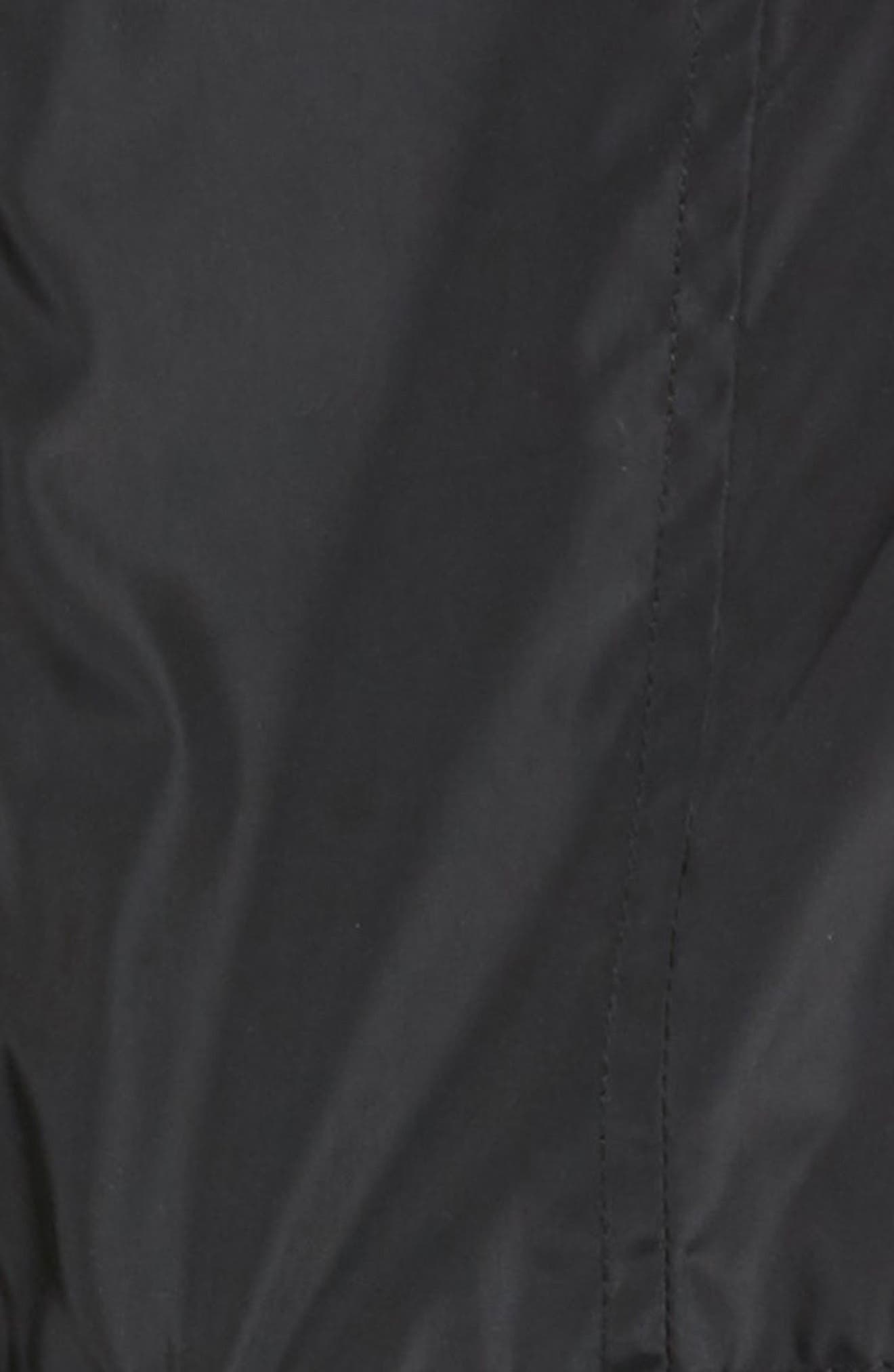 Rain Jacket,                             Alternate thumbnail 2, color,                             Black