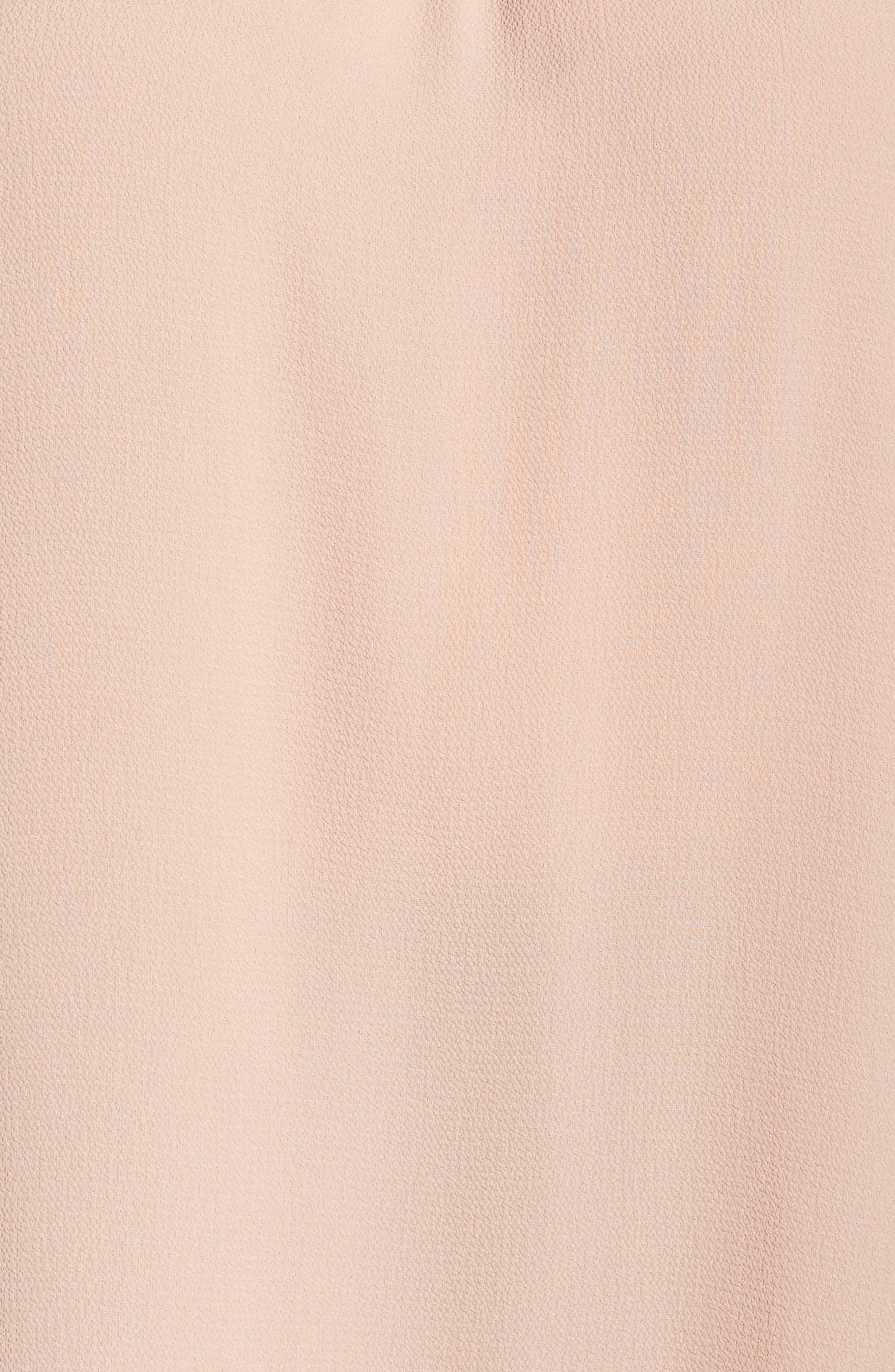 Alternate Image 5  - Bobeau Bell Sleeve Off the Shoulder Top (Plus Size)