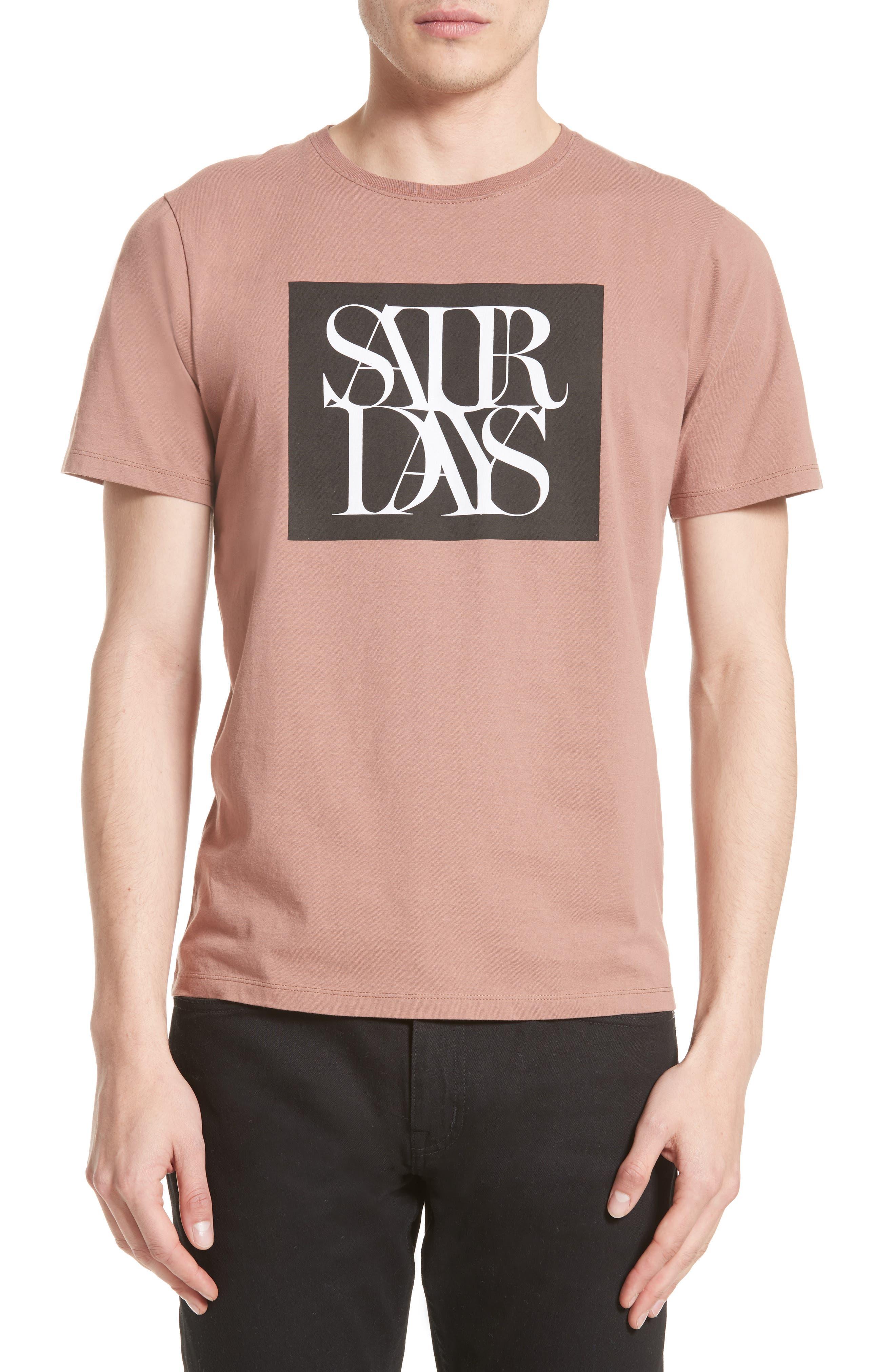 Saturdays NYC Overlap Logo Graphic T-Shirt