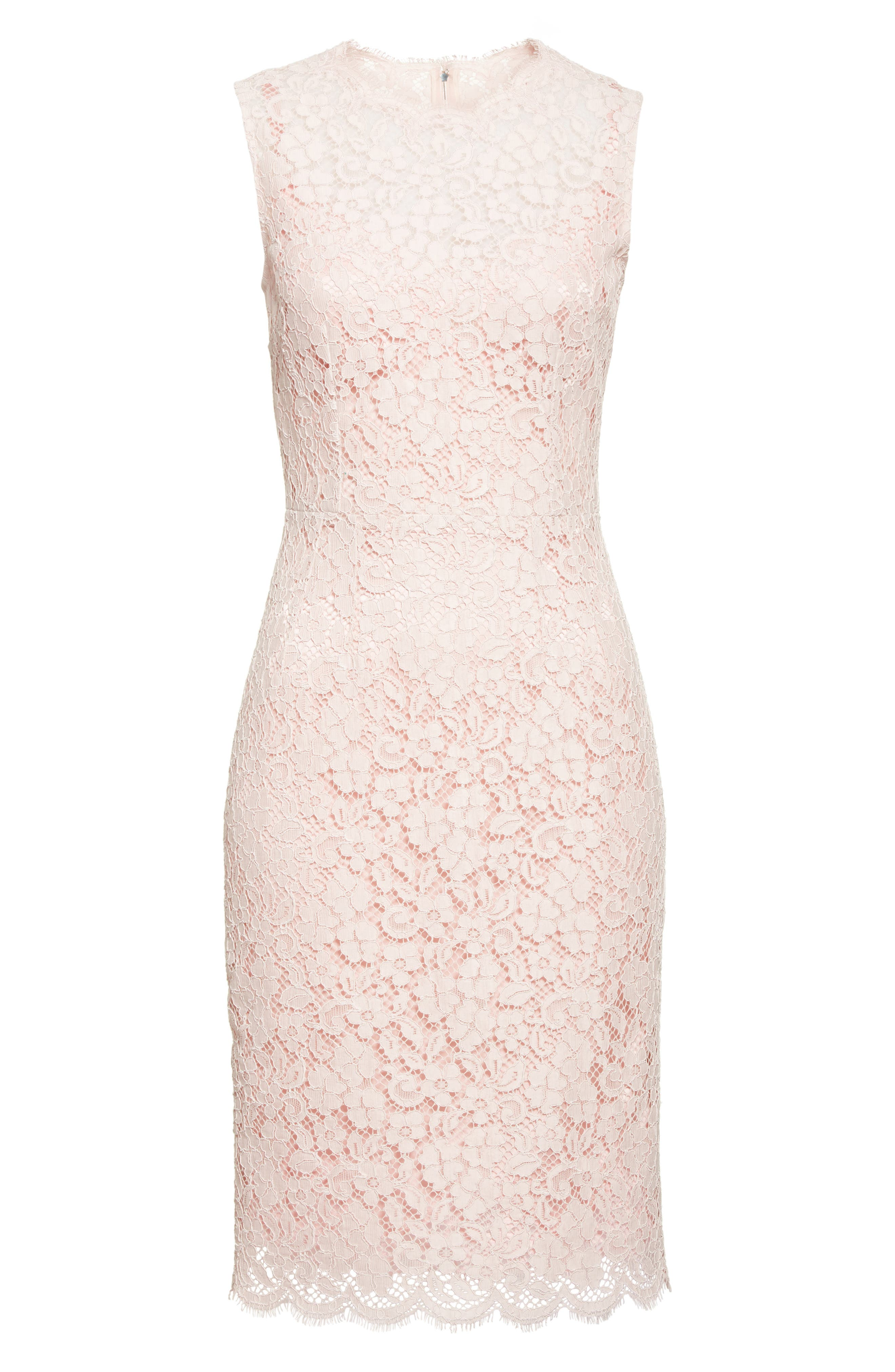Alternate Image 4  - Dolce&Gabbana Lace Sheath Dress