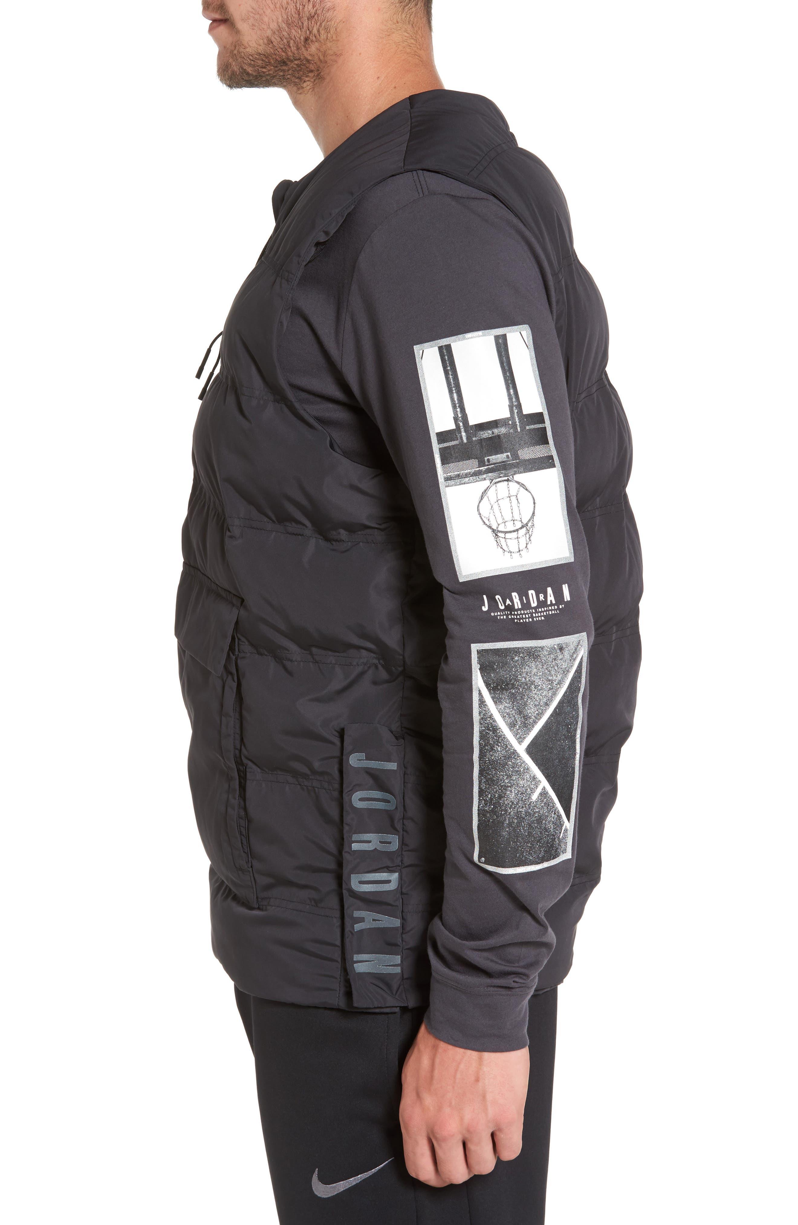 23 Tech Vest,                             Alternate thumbnail 4, color,                             Black