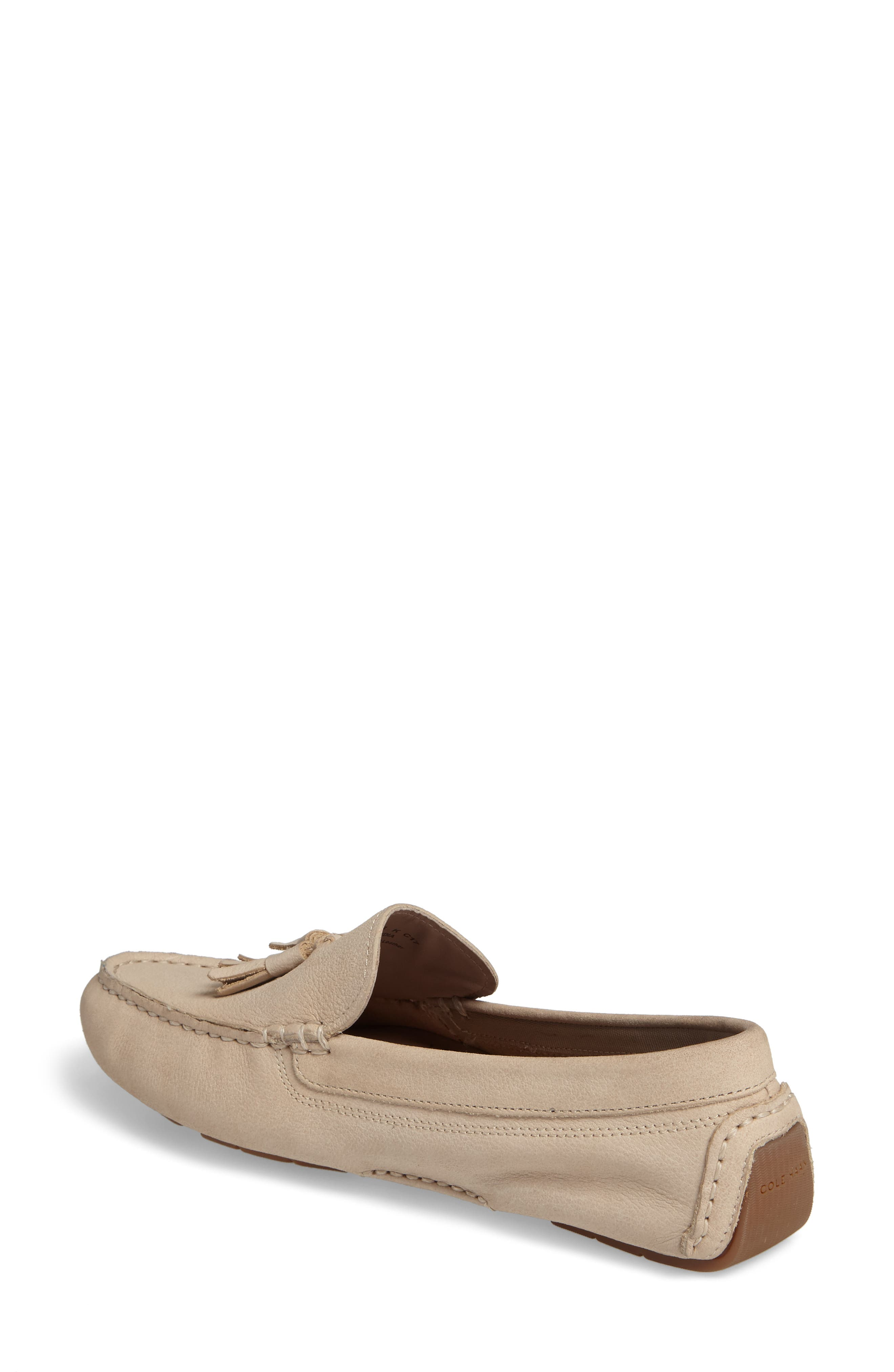 Alternate Image 2  - Cole Haan Rodeo Tassel Driving Loafer (Women)