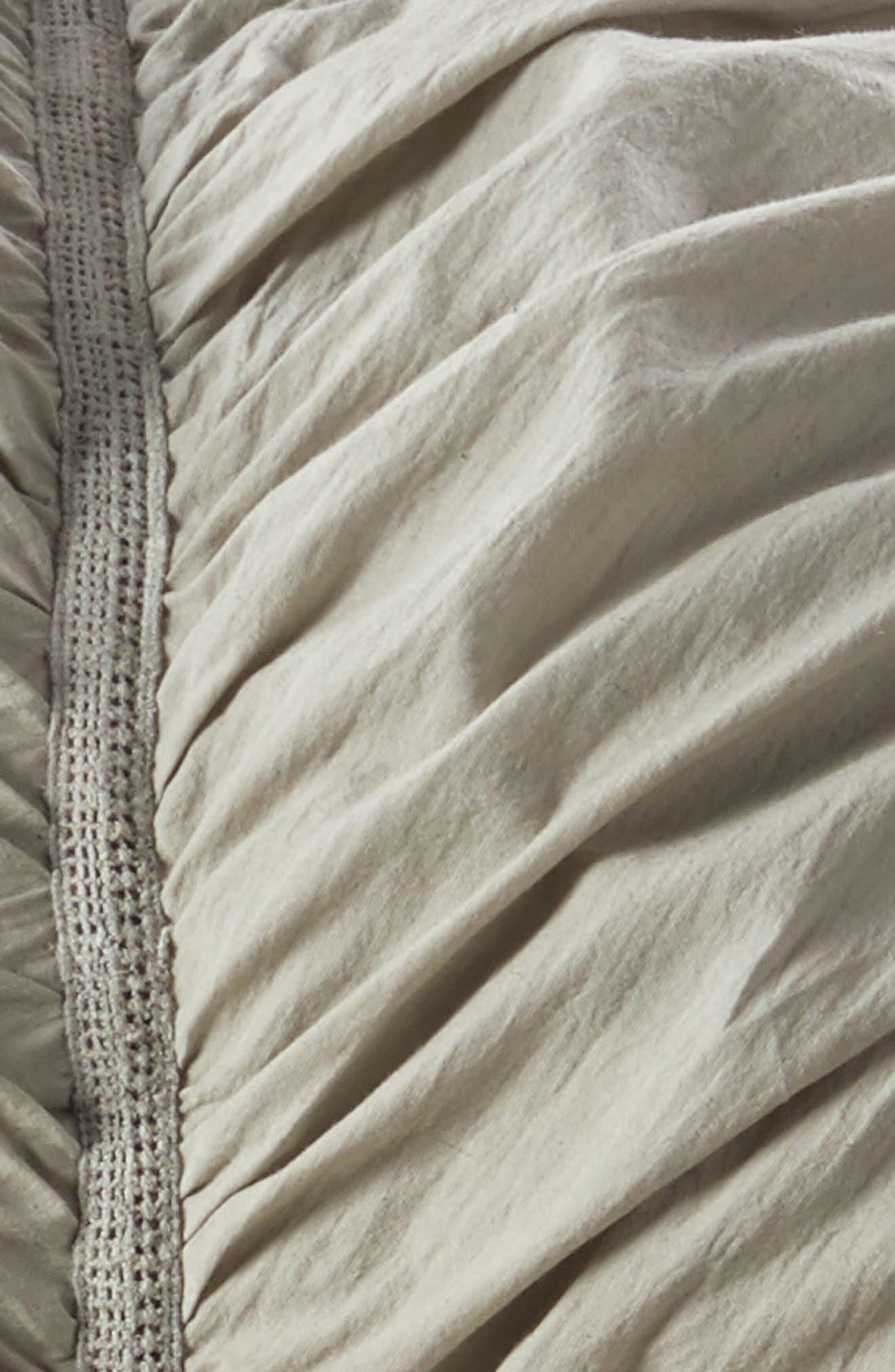 Aria Duvet Cover,                             Alternate thumbnail 2, color,                             Grey Paloma