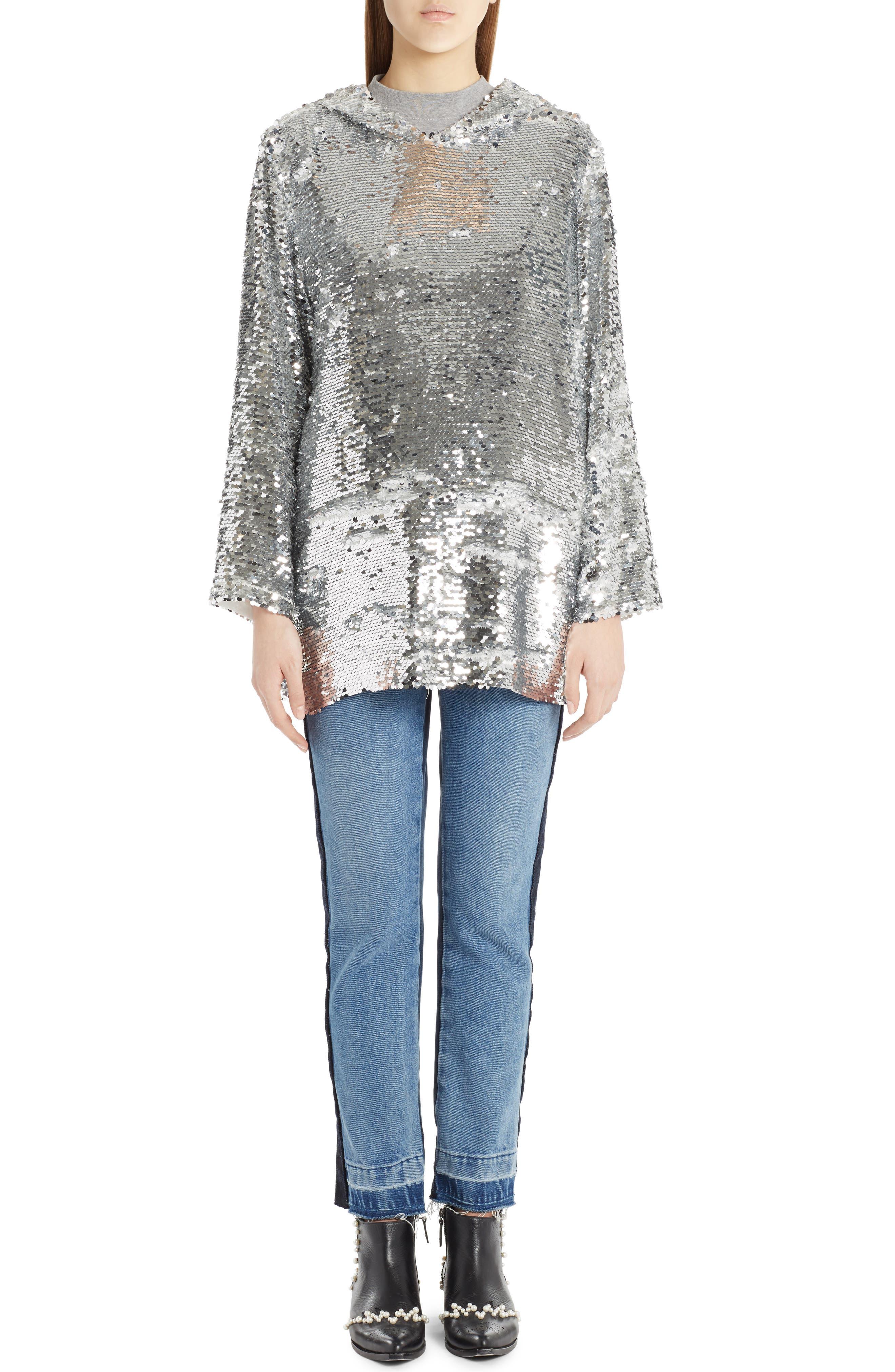 Alternate Image 7  - MSGM Paneled Jeans