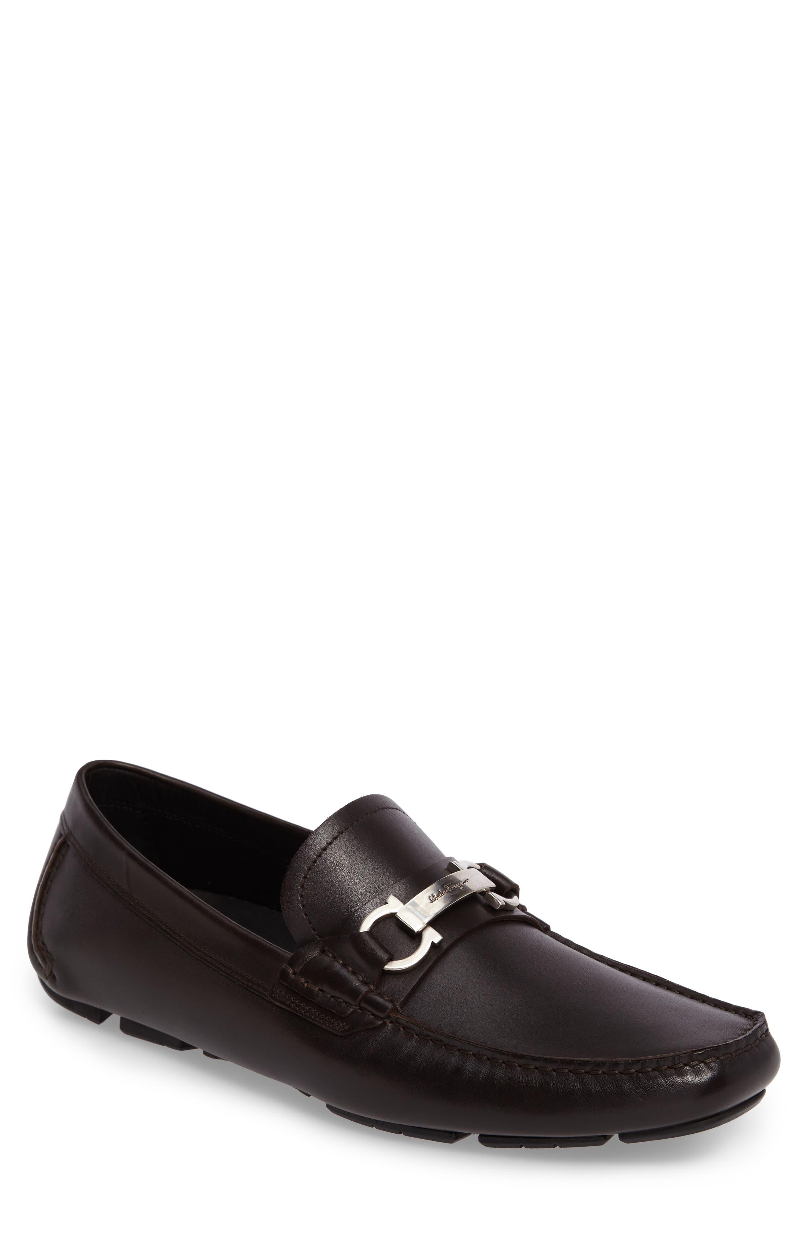 Alternate Image 1 Selected - Salvatore Ferragamo Driving Shoe (Men)