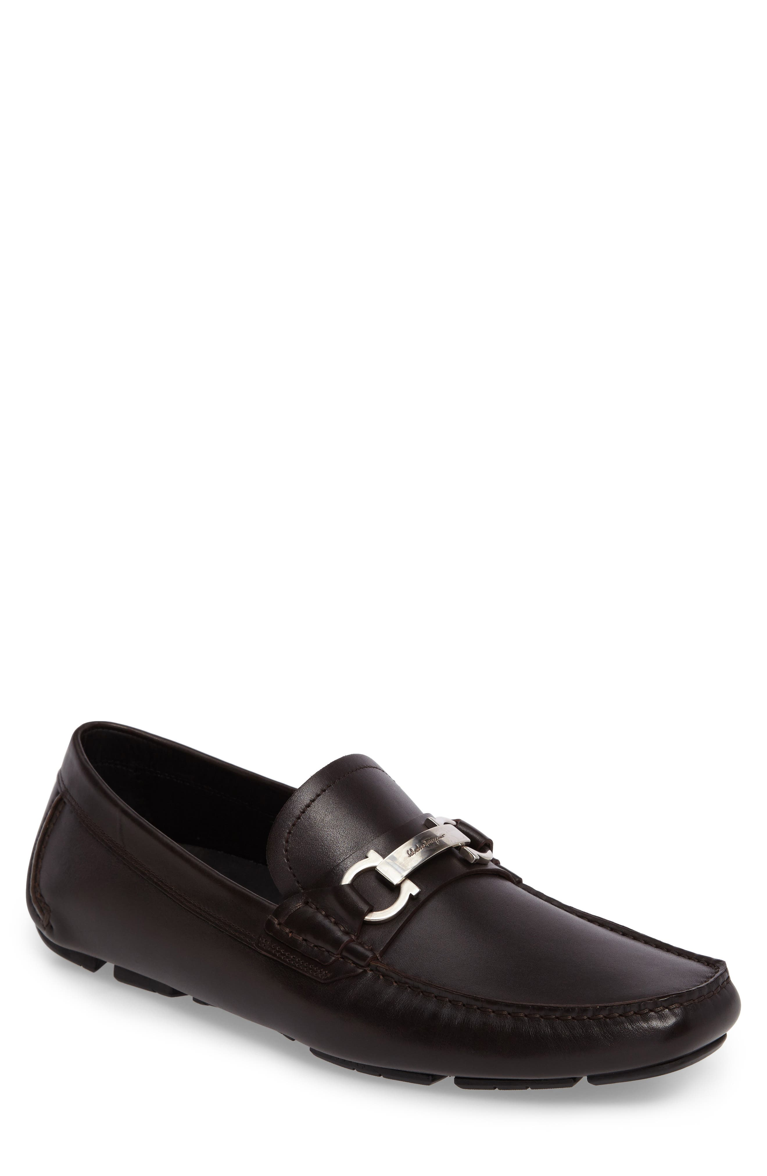 Driving Shoe,                         Main,                         color, Hickory Leather