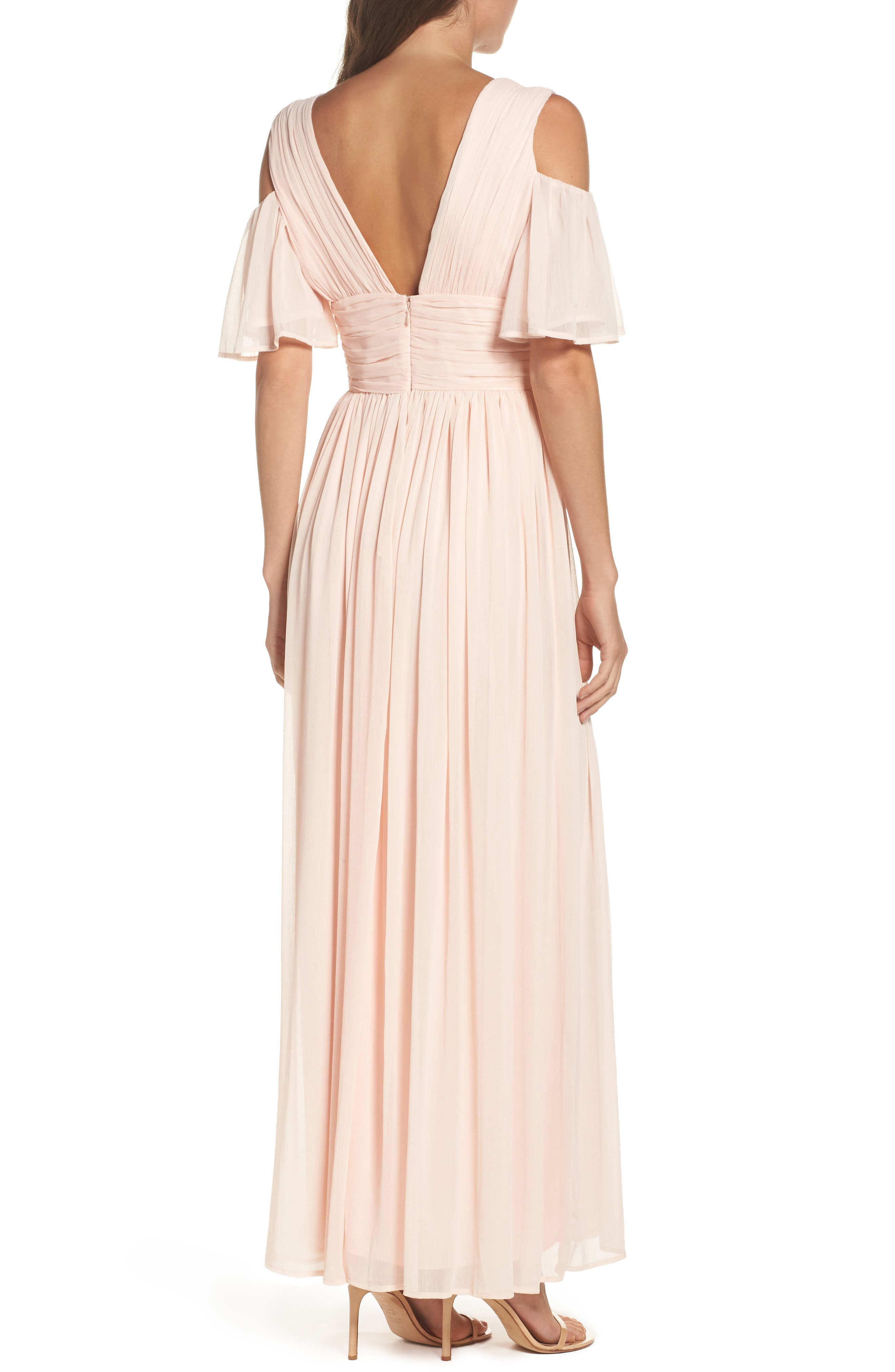 Alternate Image 2  - French Connection Constance Cold Shoulder Maxi Dress