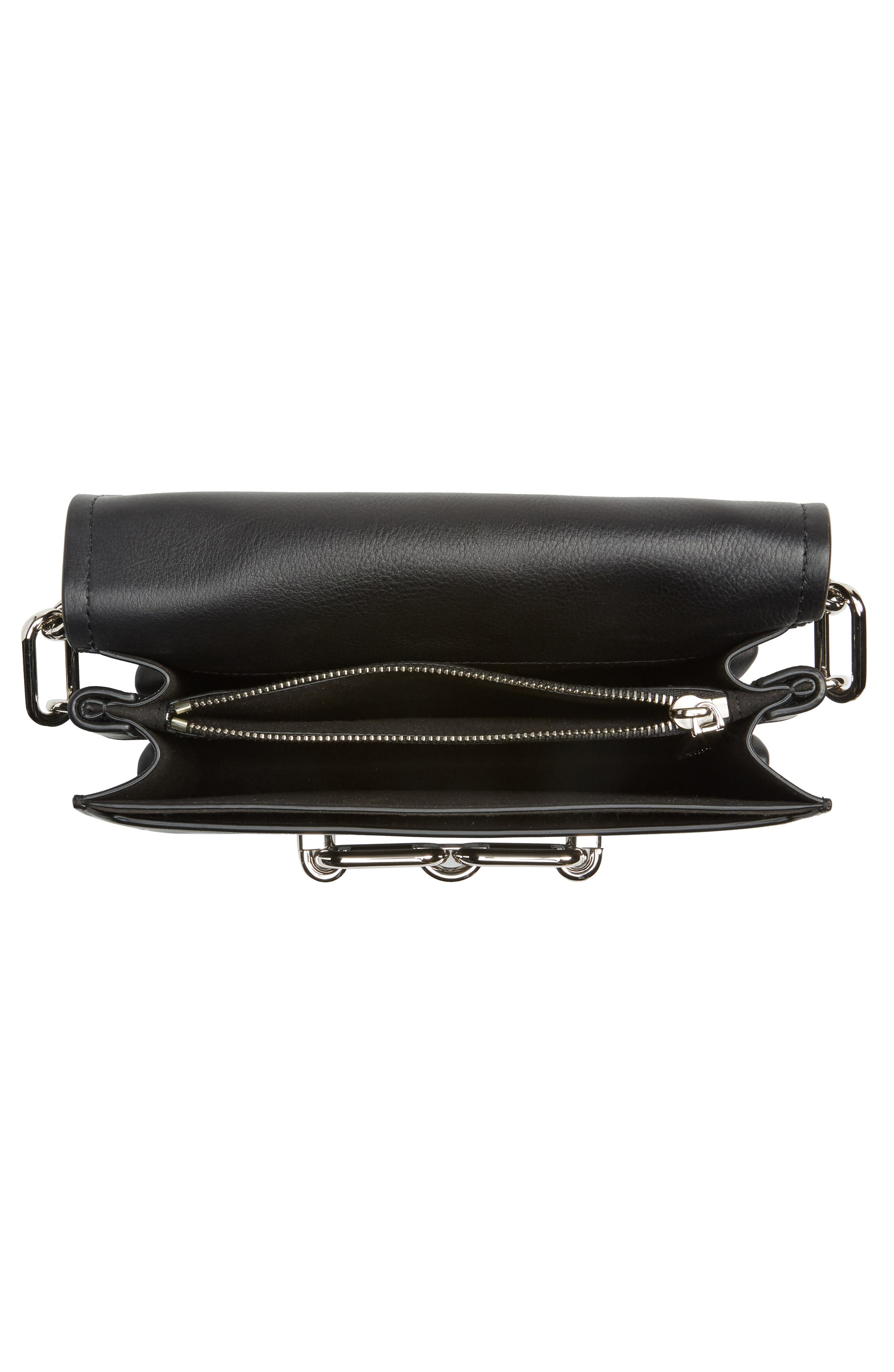 Medium Shoulder Bag,                             Alternate thumbnail 3, color,                             Black