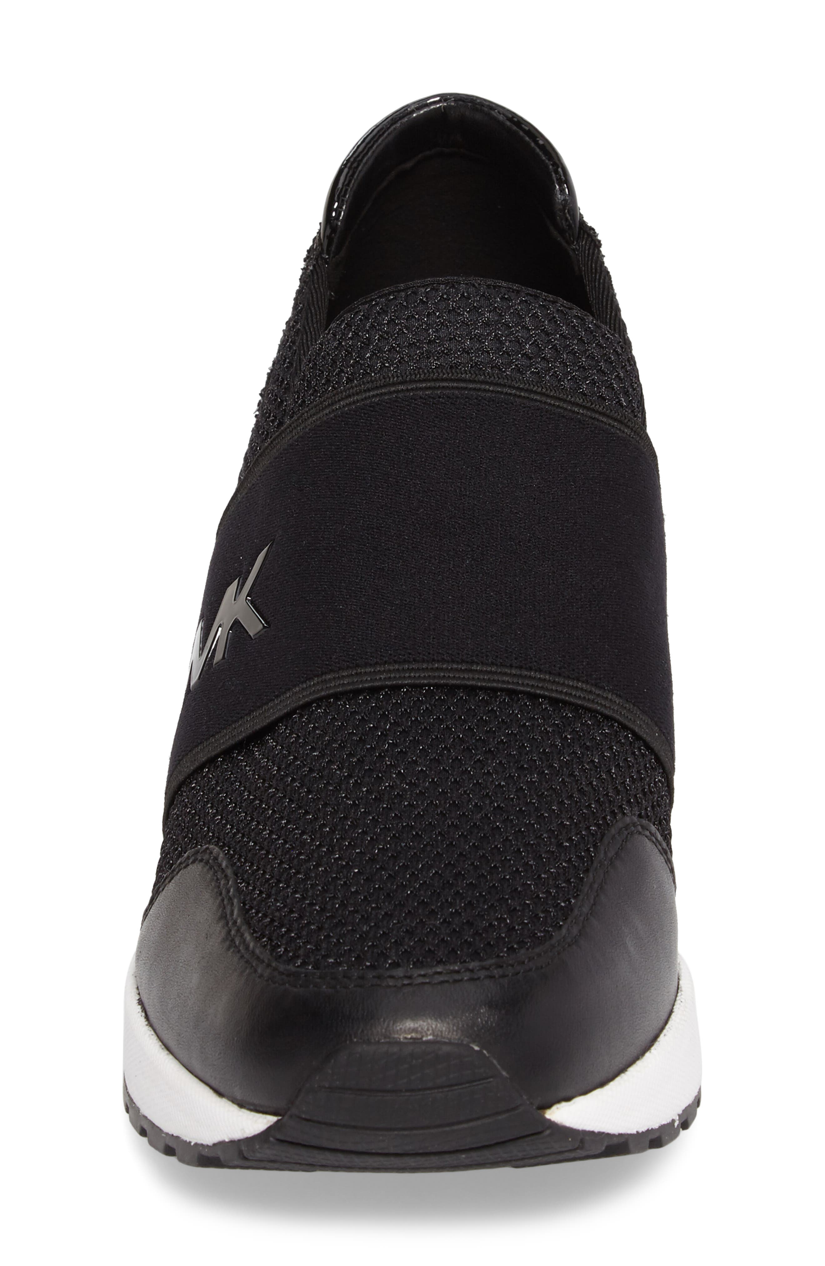 Alternate Image 4  - MICHAEL Michael Kors Felix Slip-On Glitter Sneaker (Women)