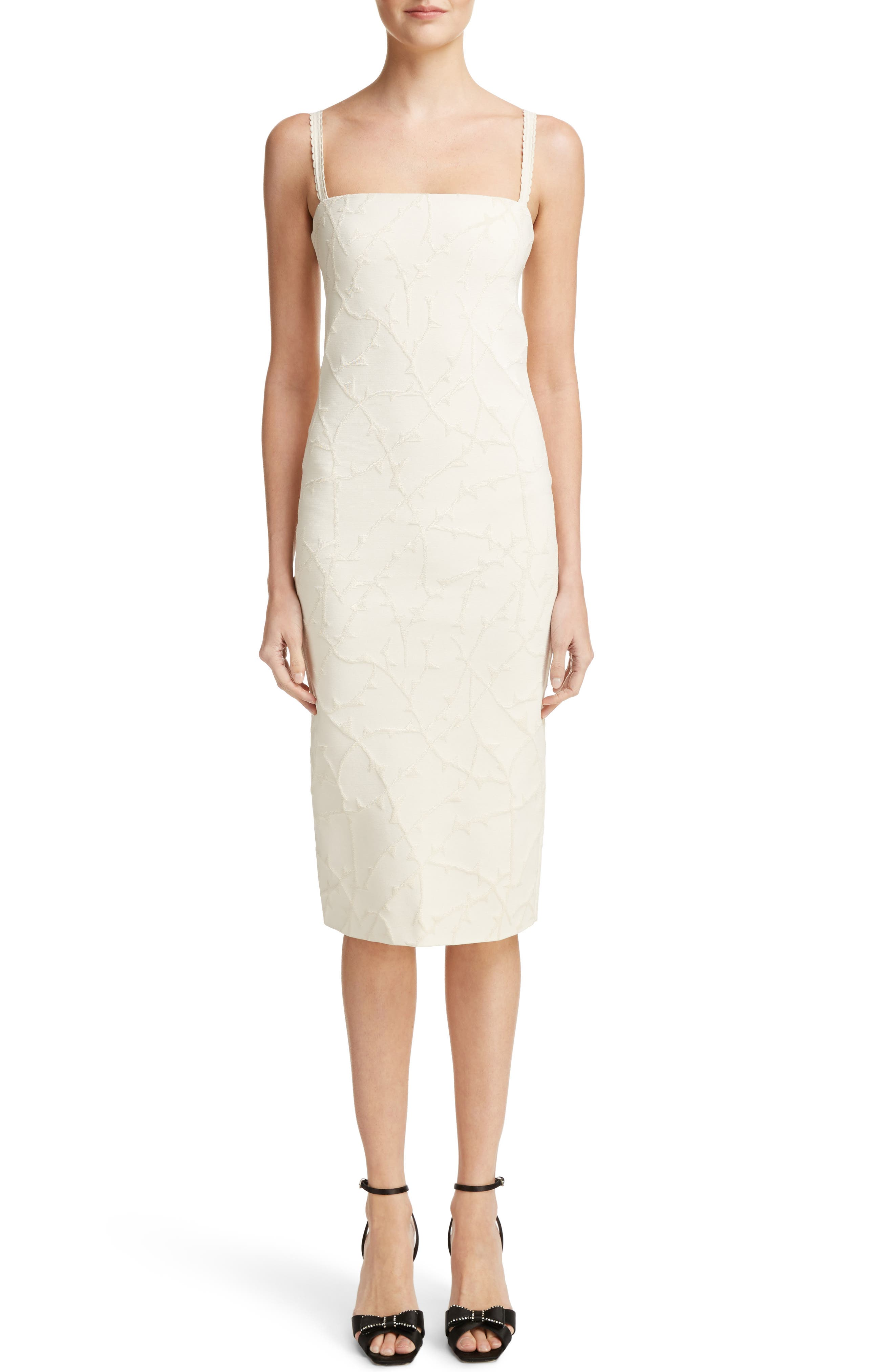 Alternate Image 1 Selected - Loewe Jacquard Knit Dress