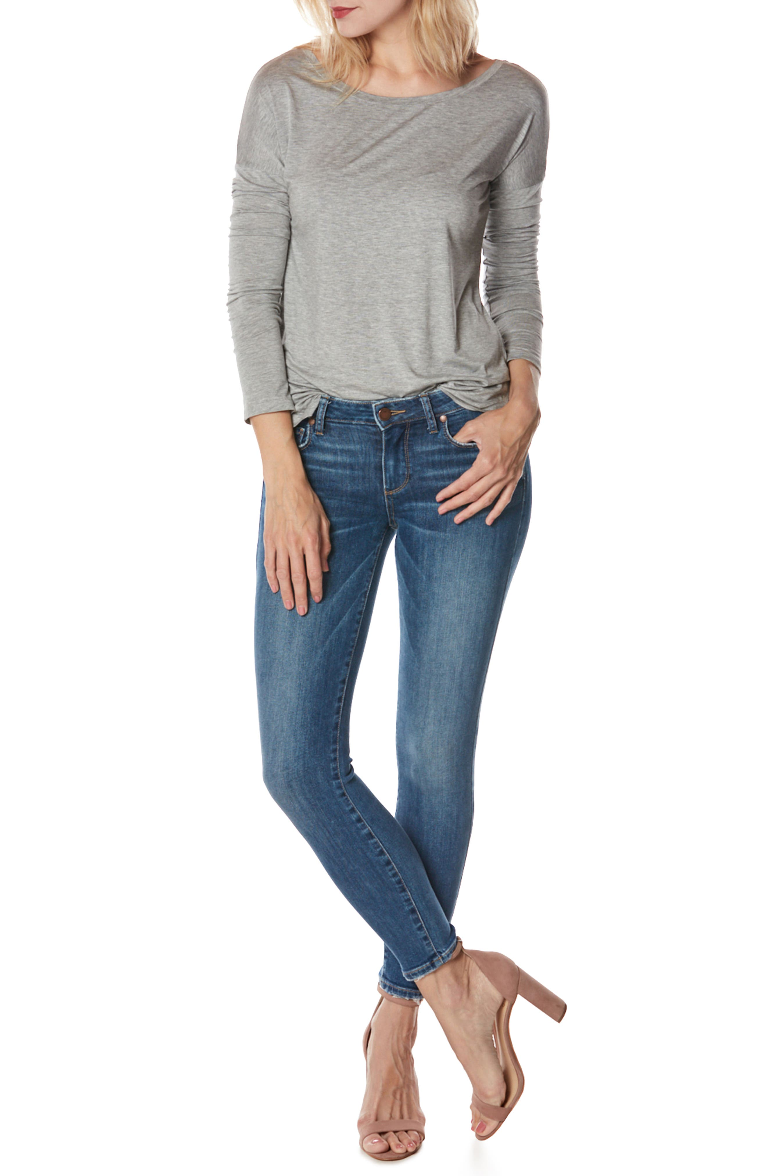 Verdugo Ankle Ultra Skinny Jeans,                             Alternate thumbnail 2, color,                             Bali