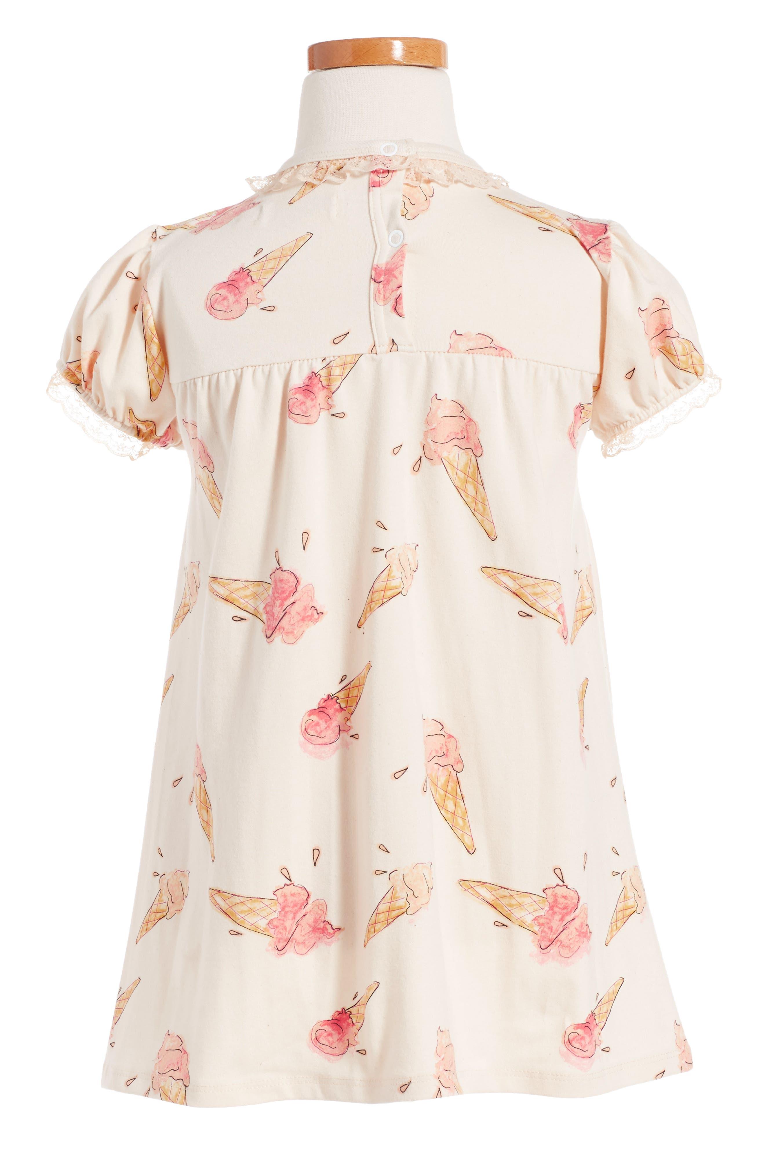 Alternate Image 2  - For Love & Lemons Ice Cream Print Dress (Toddler Girls & Little Girls)