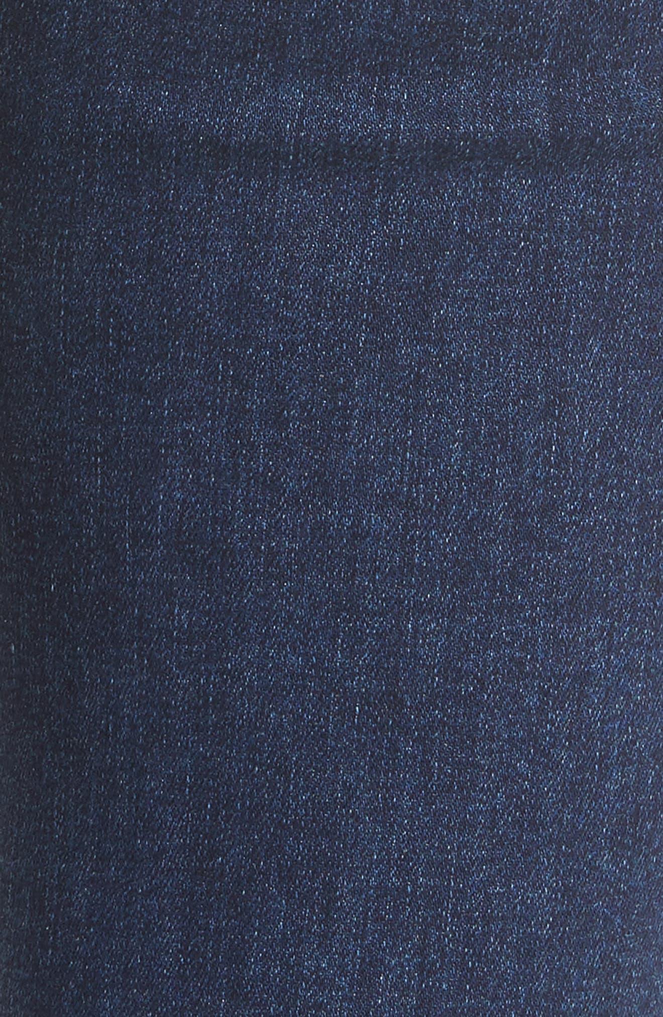 Alternate Image 5  - 7 For All Mankind® Ankle Skinny Jeans (Stunning Bleeker)