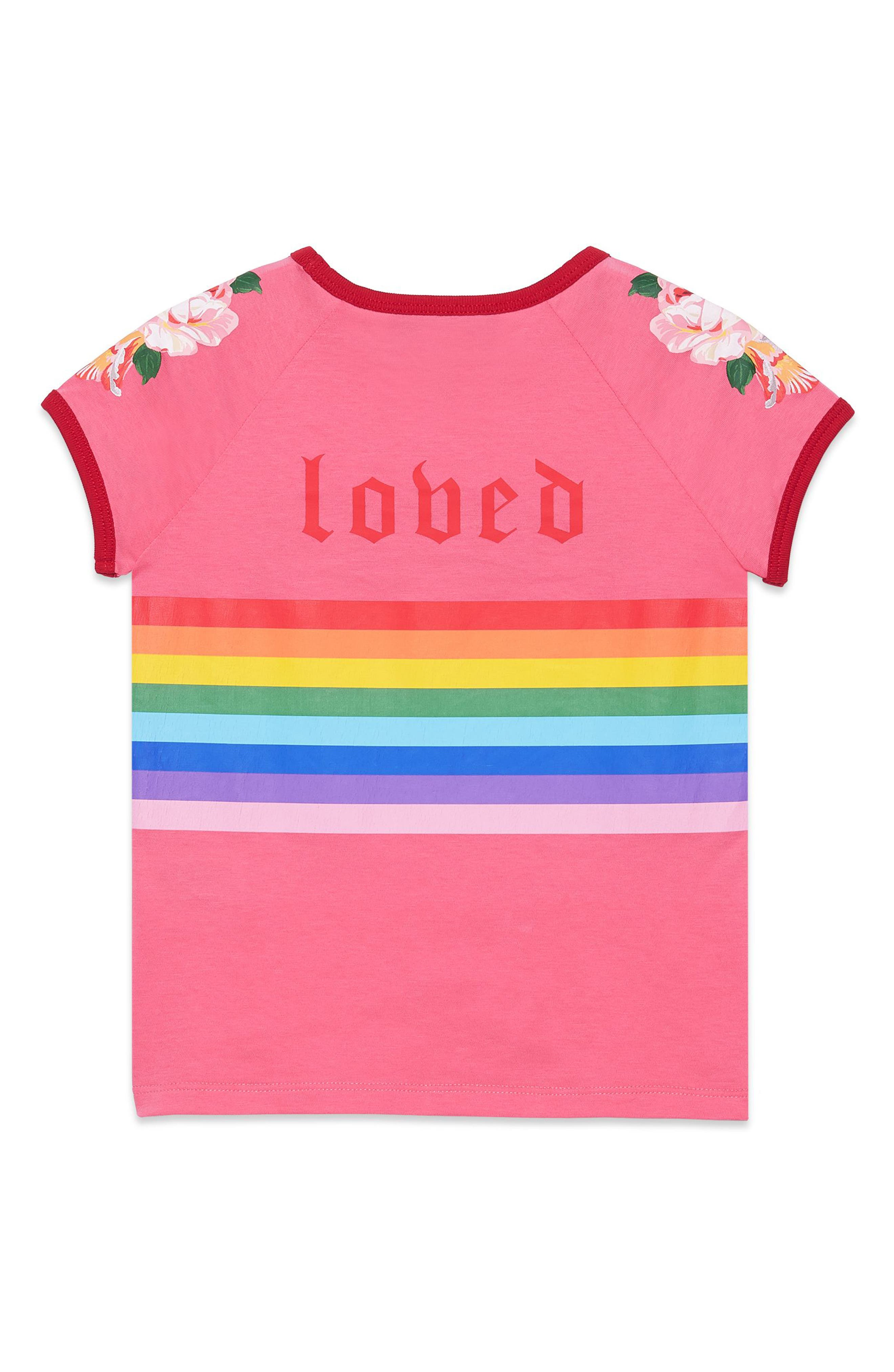 Alternate Image 2  - Gucci Stripe Tee (Little Girls & Big Girls)