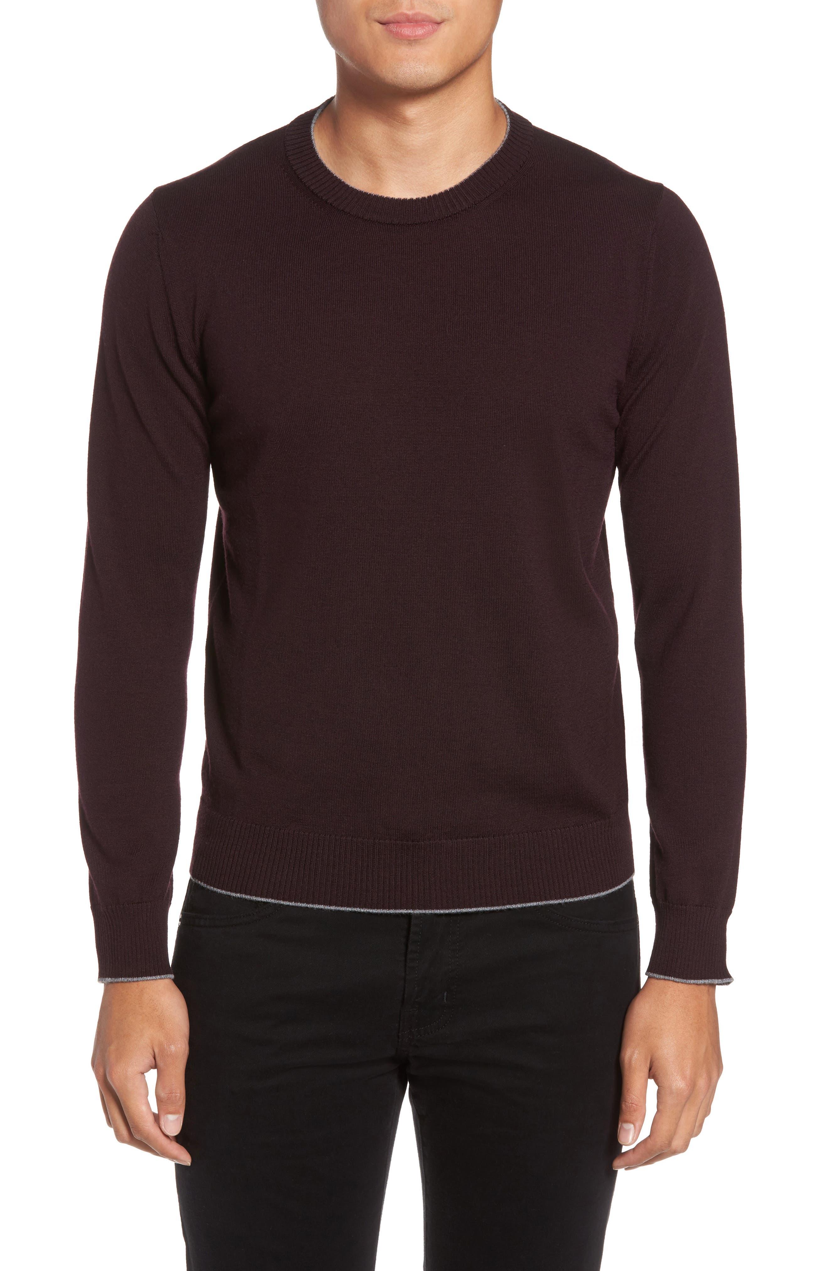 Eleventy Virgin Wool Crewneck Sweater