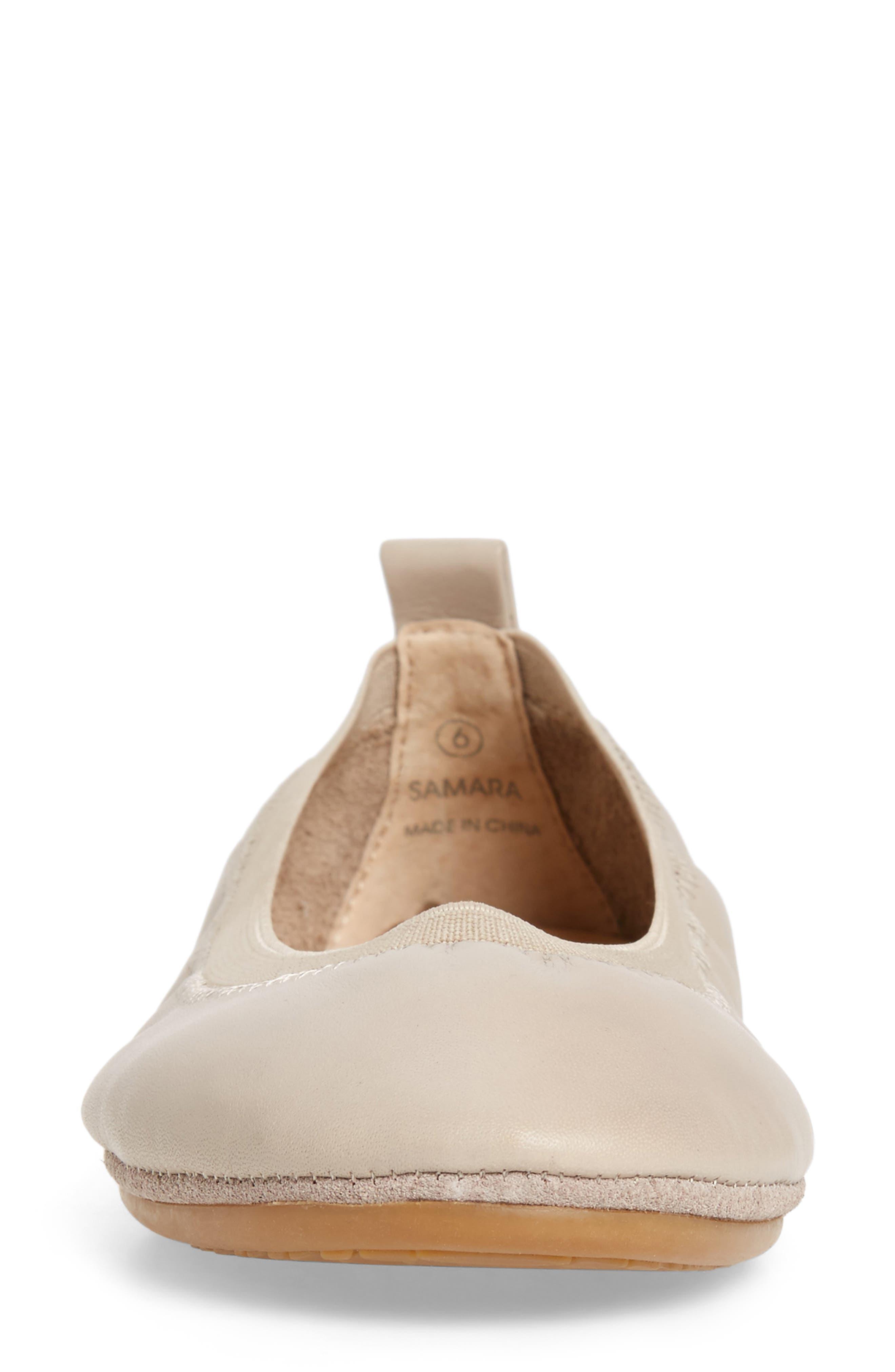 Alternate Image 4  - Yosi Samra Samara Foldable Ballet Flat (Women)