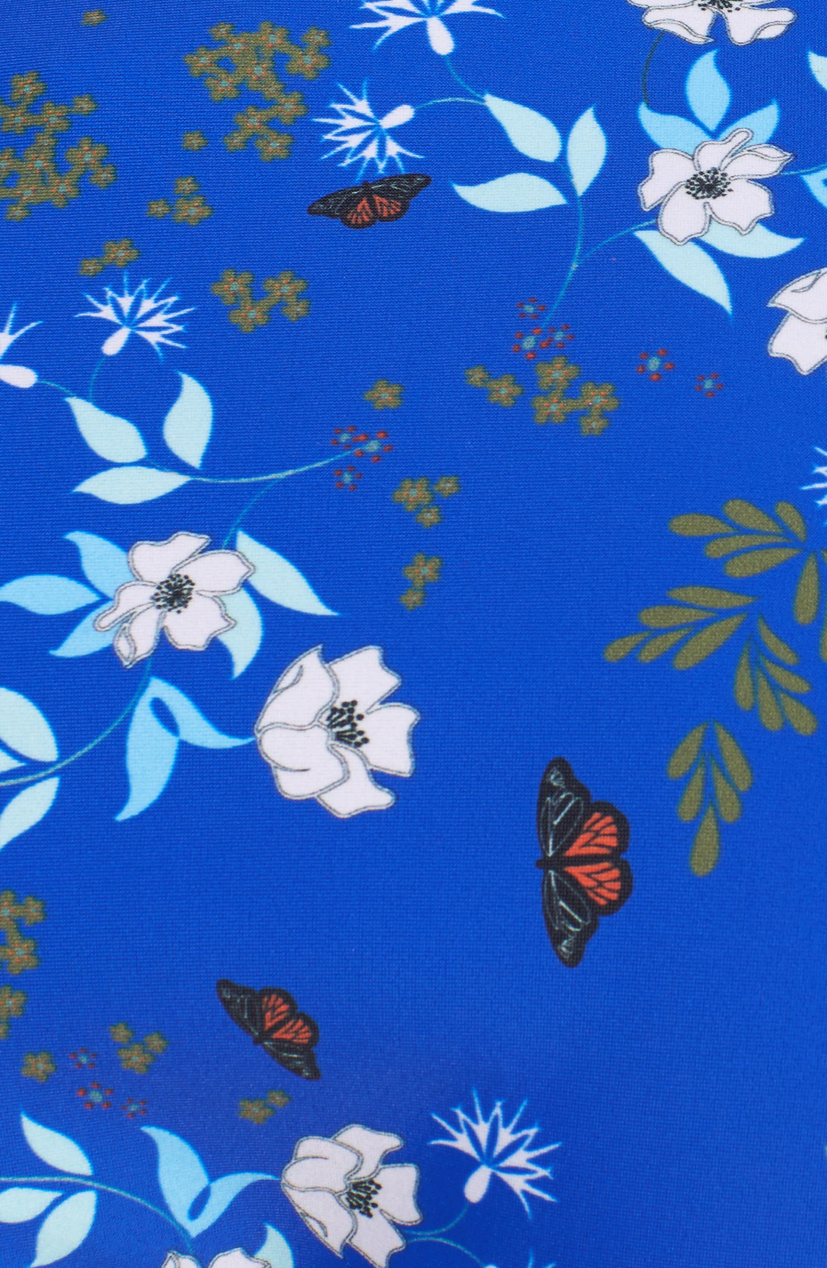 Kyoto Bikini Bottoms,                             Alternate thumbnail 5, color,                             Bright Blue