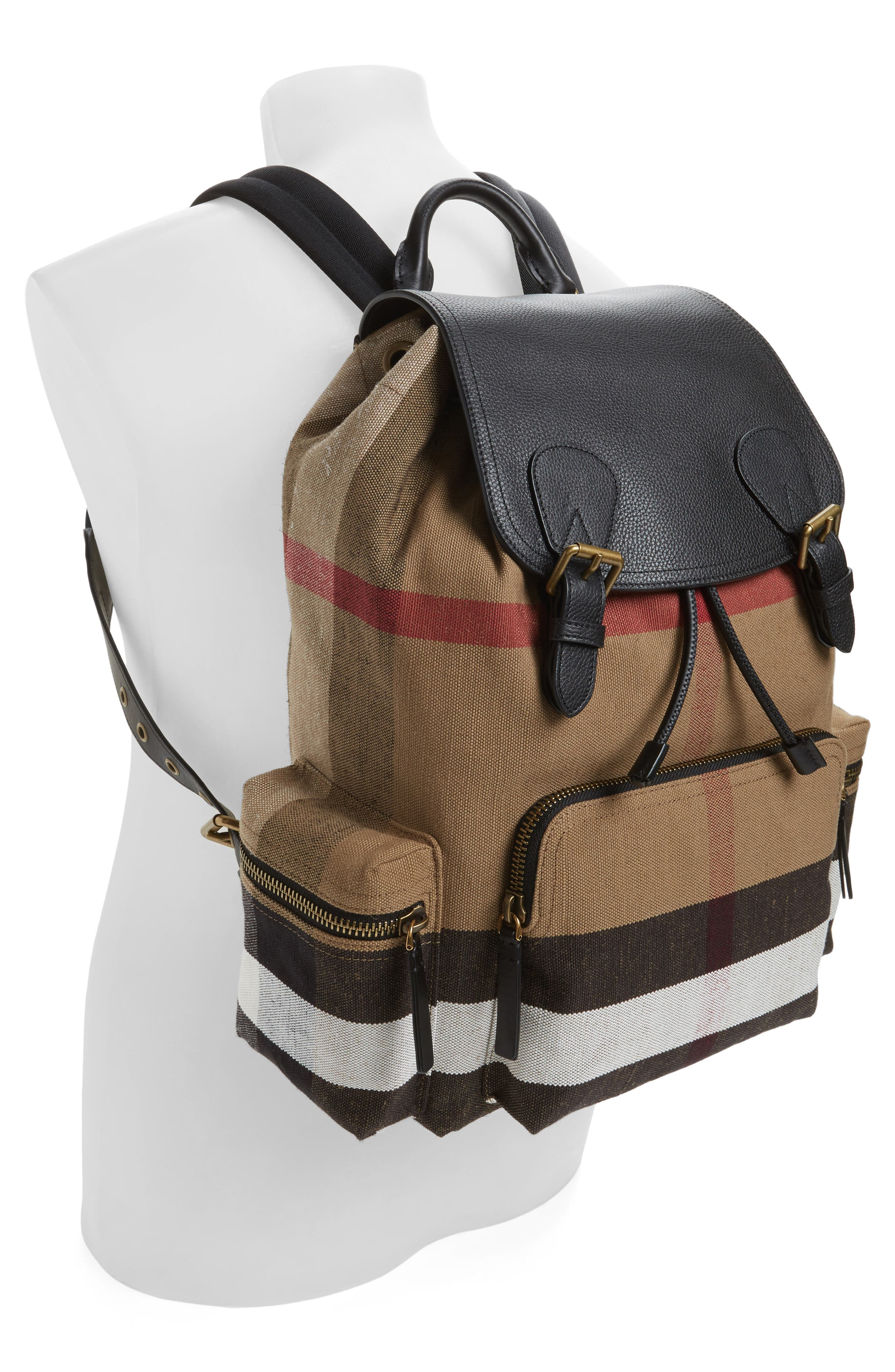 Rucksack Backpack,                             Alternate thumbnail 2, color,                             Classic Check