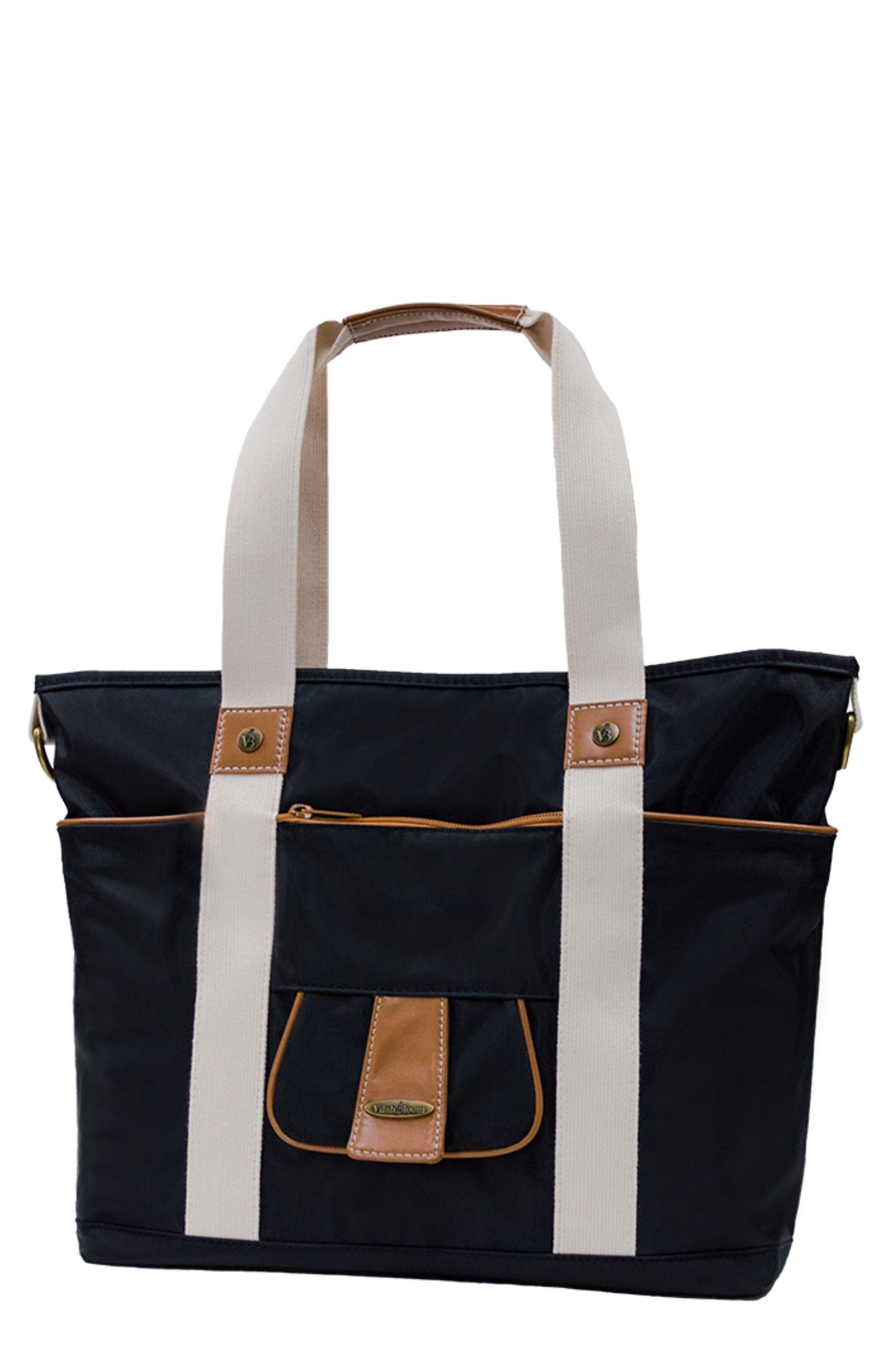 Harbor Side Tote Diaper Bag,                         Main,                         color, Black