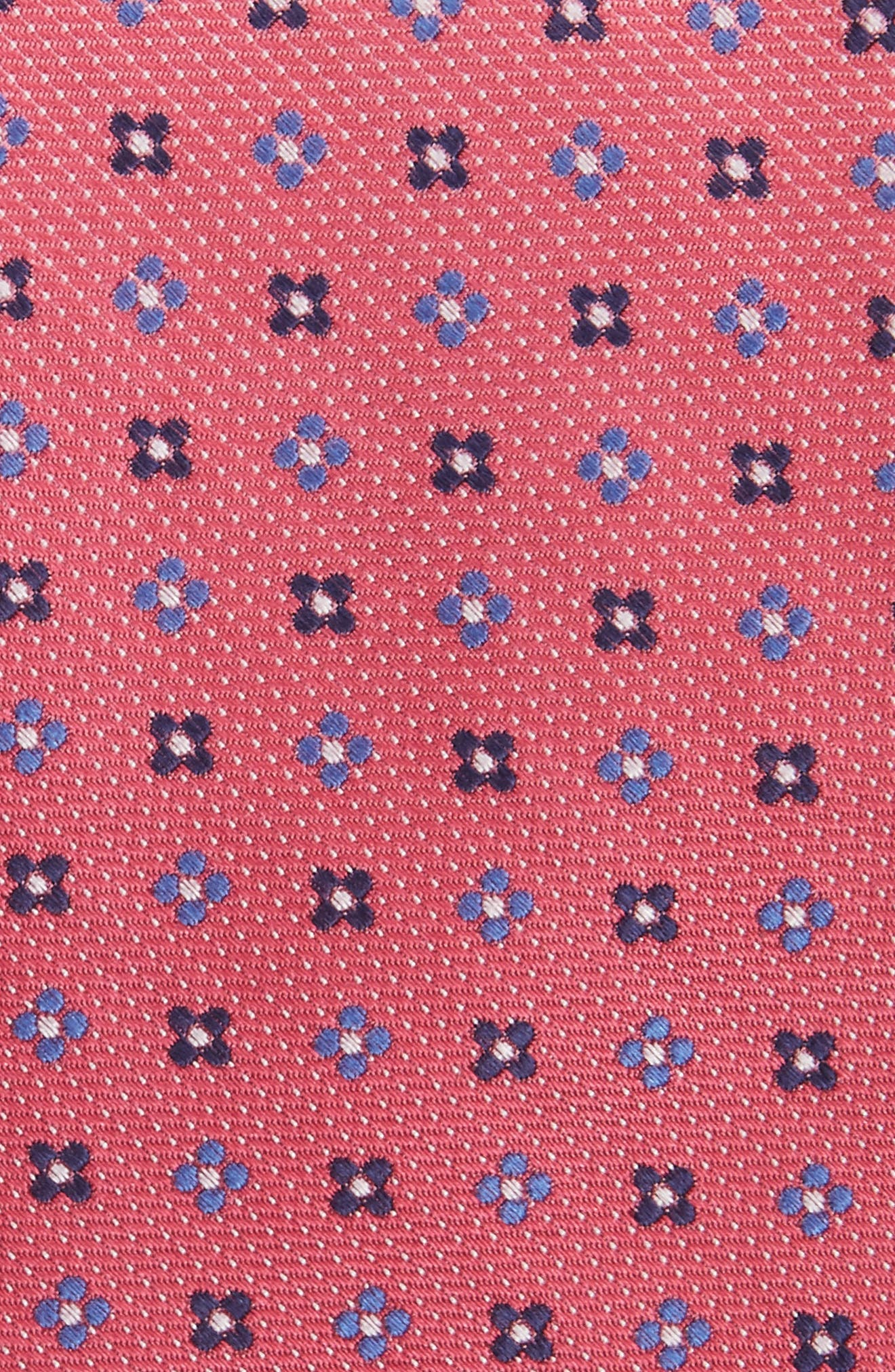 Neat Silk Tie,                             Alternate thumbnail 2, color,                             Pink