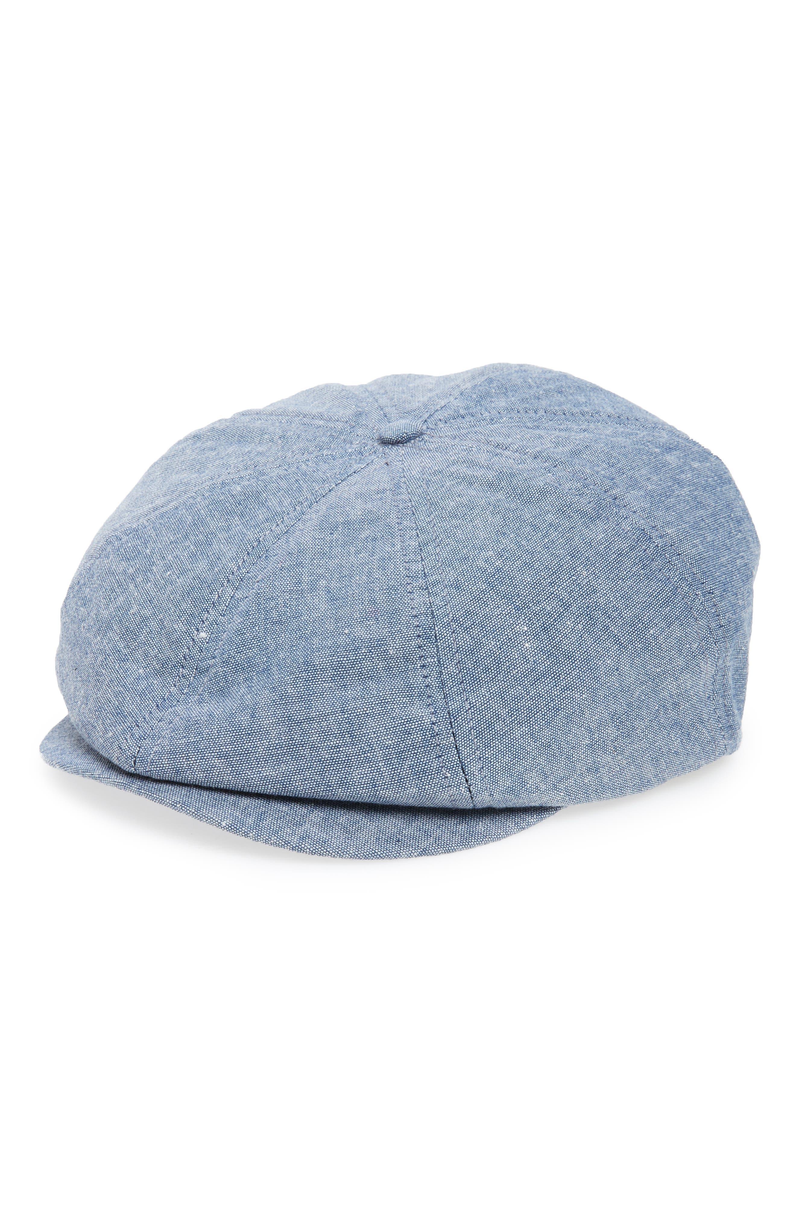 Brood 8 Driving Cap,                         Main,                         color, Lt Blue