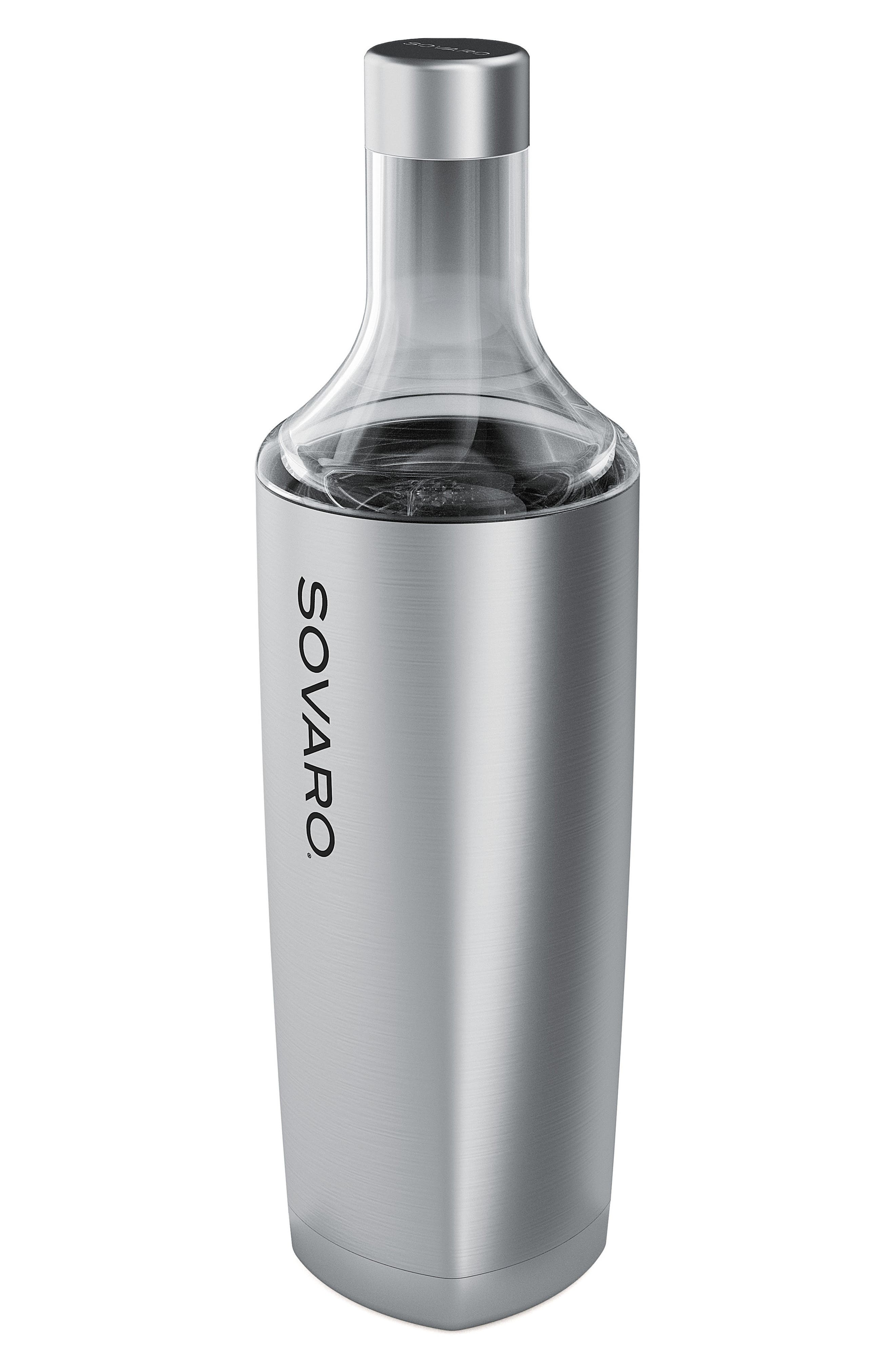 25-Ounce Insulated Beverage Bottle,                         Main,                         color, Stainless