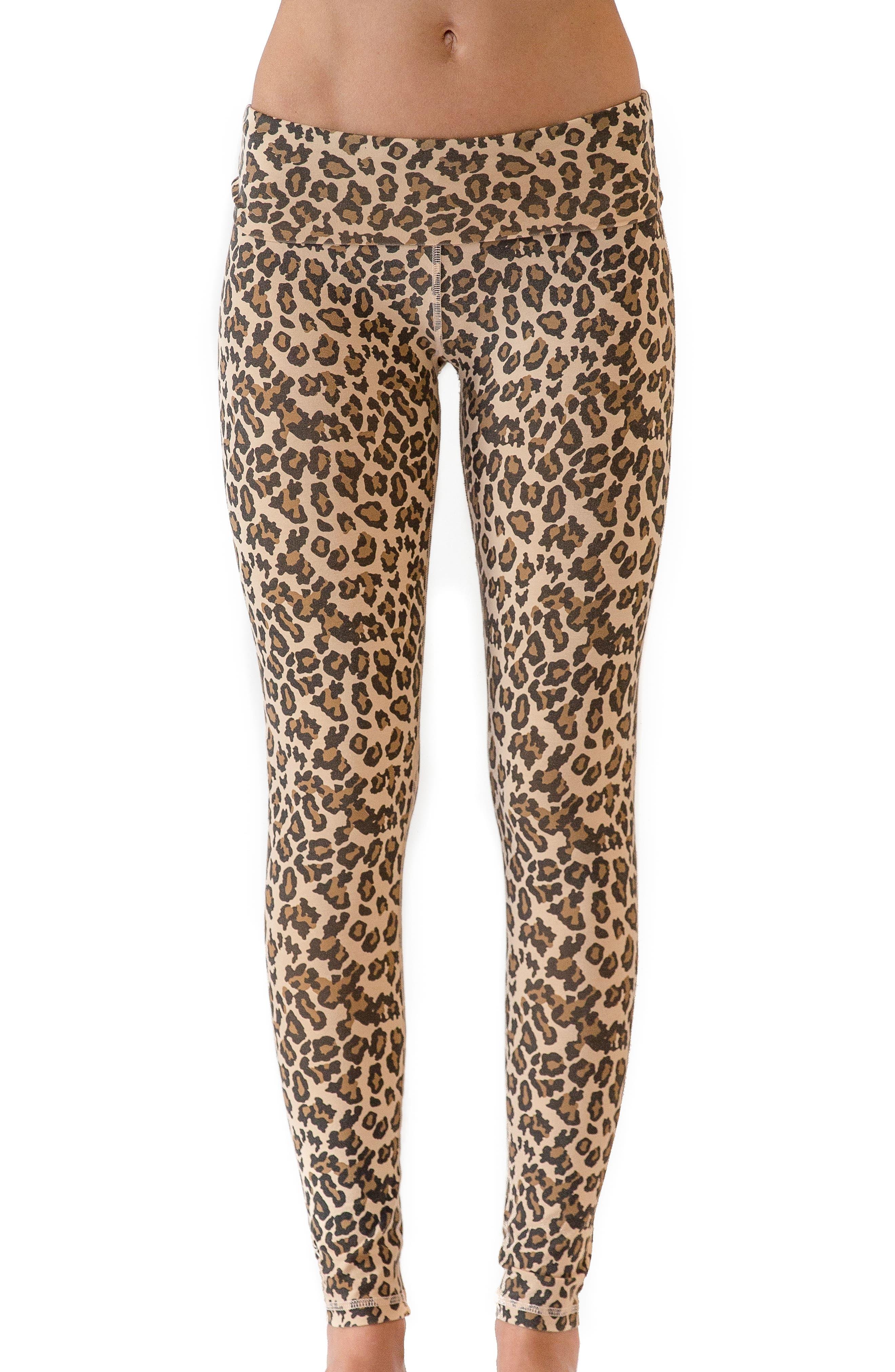 Main Image - Ragdoll Leopard Print Leggings