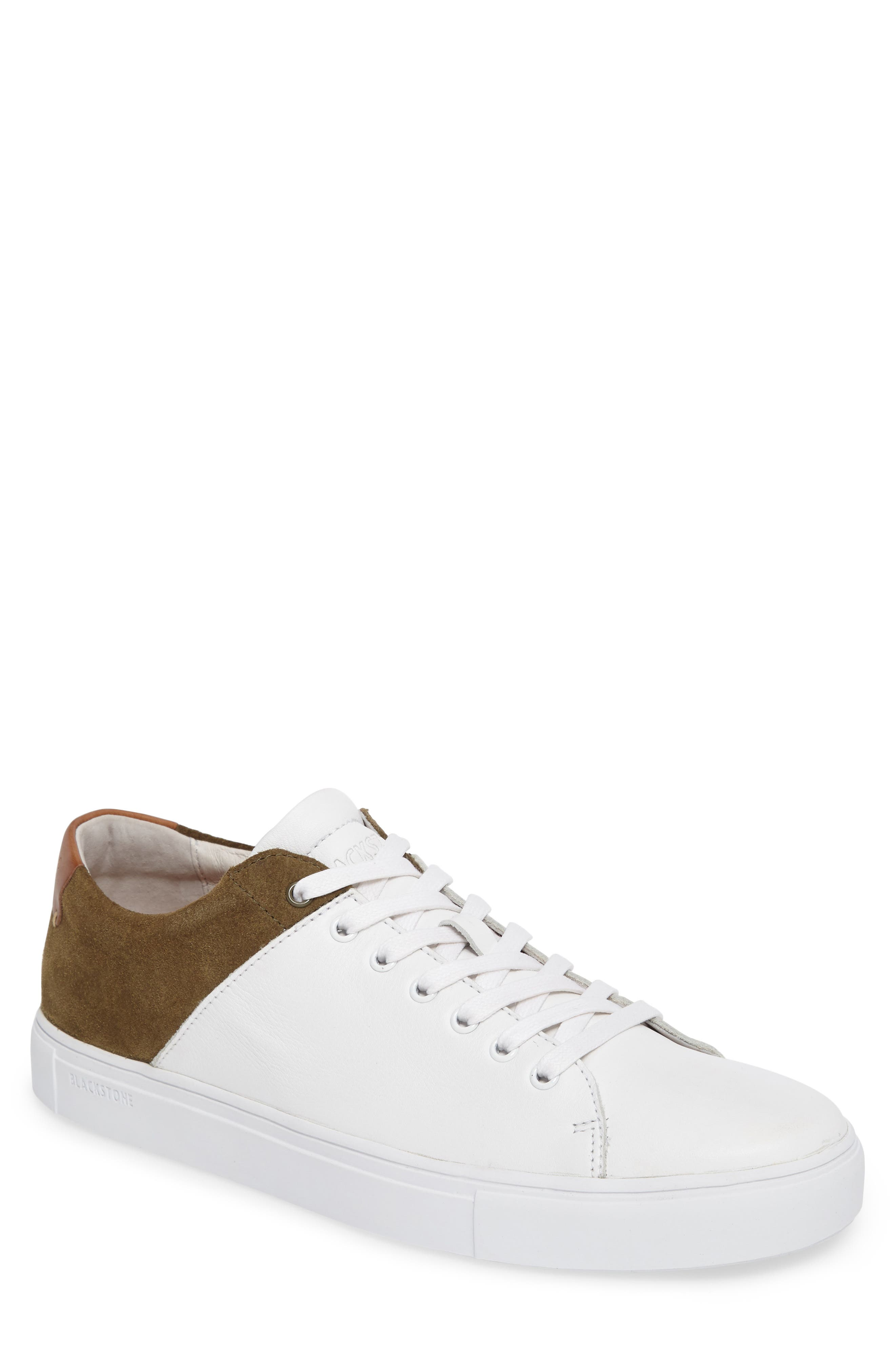 NM03 Two-Tone Sneaker,                             Main thumbnail 1, color,                             White/ Olive Leather