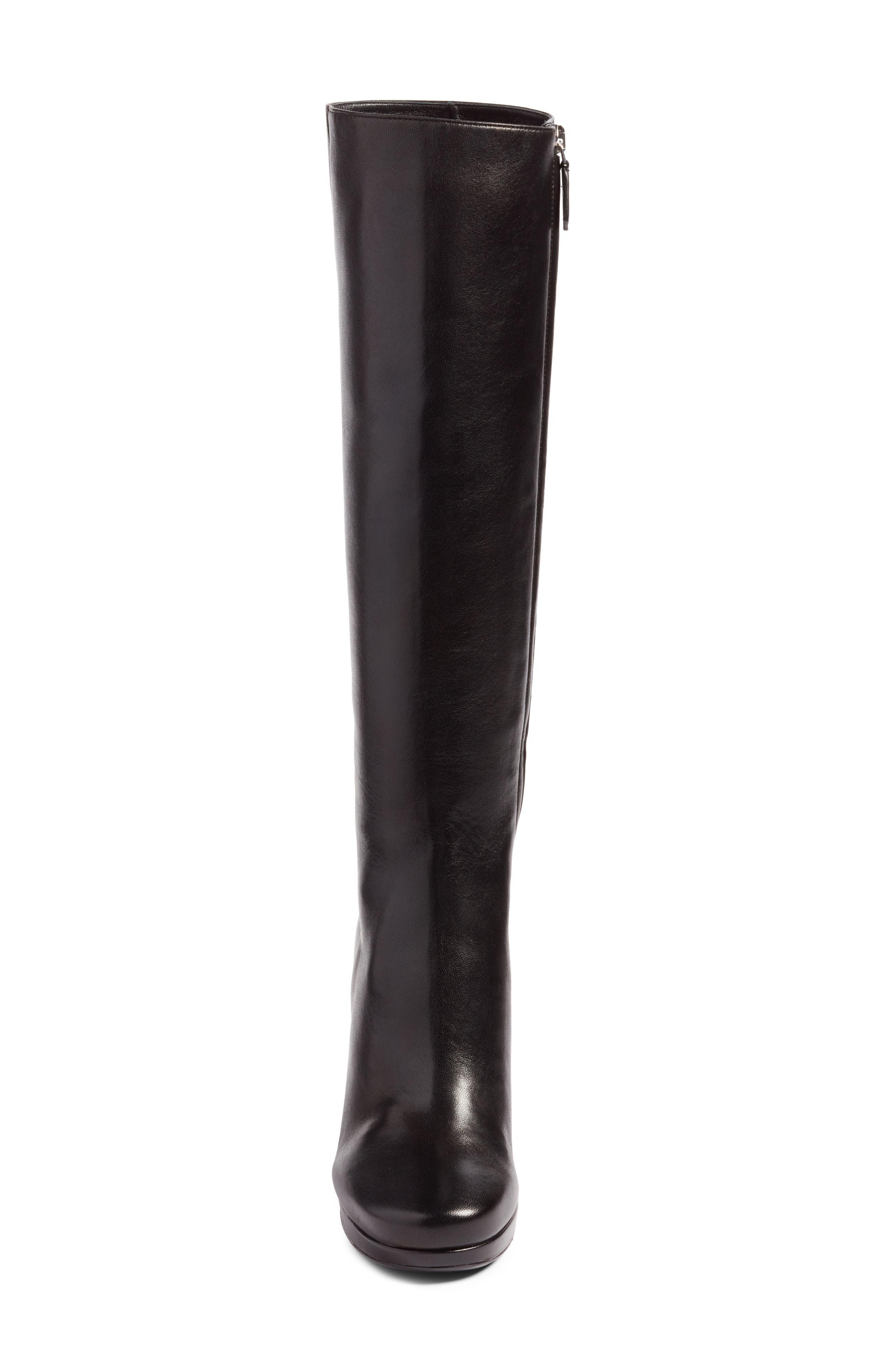Alternate Image 4  - Prada Block Heel Tall Boot (Women)