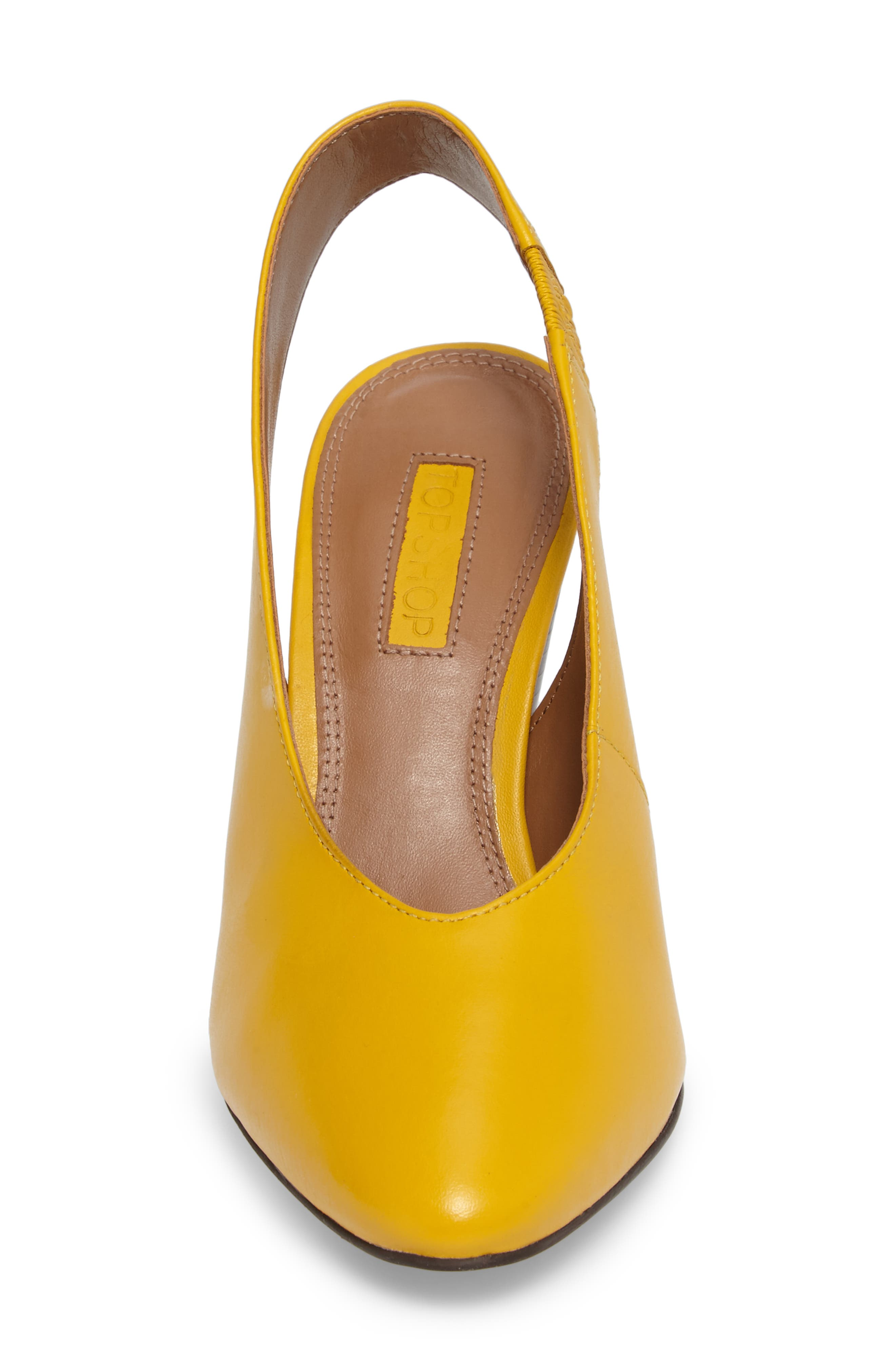 Gabriel Slingback Pump,                             Alternate thumbnail 4, color,                             Yellow