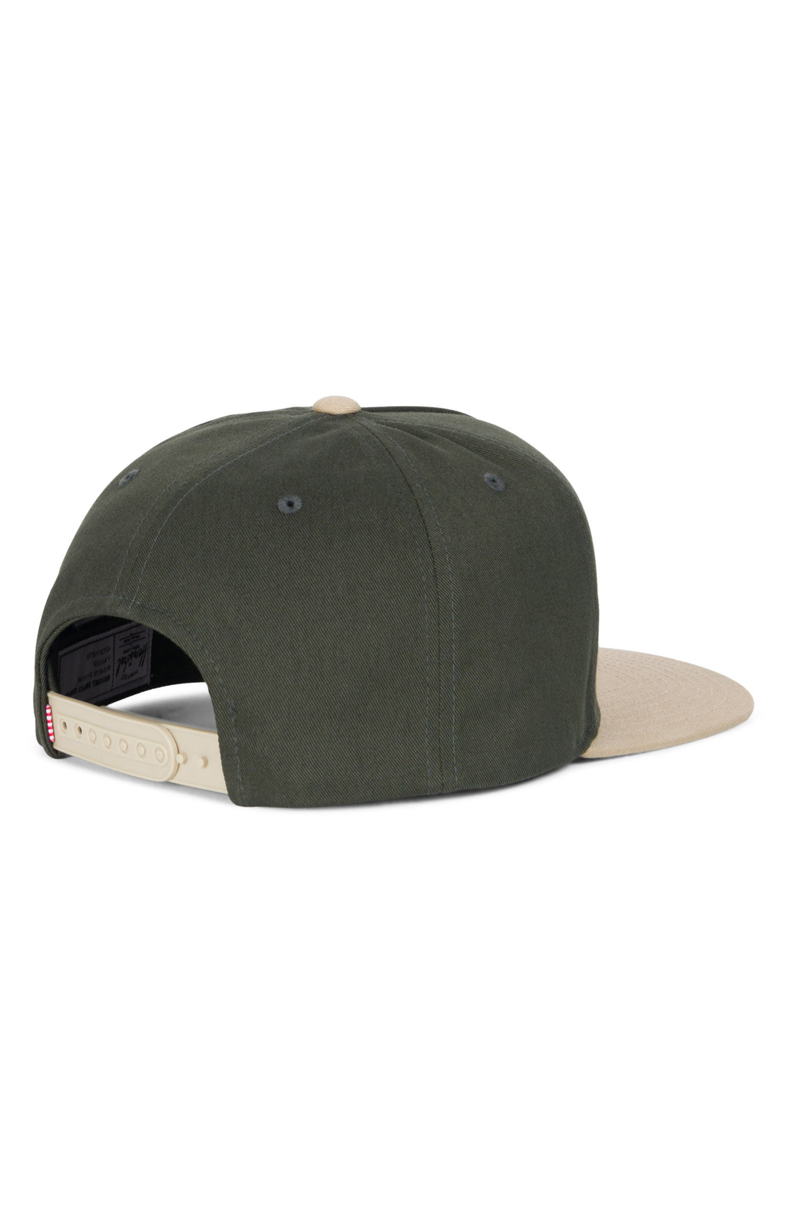 Alternate Image 2  - Herschel Supply Co. Dean Snapback Baseball Cap