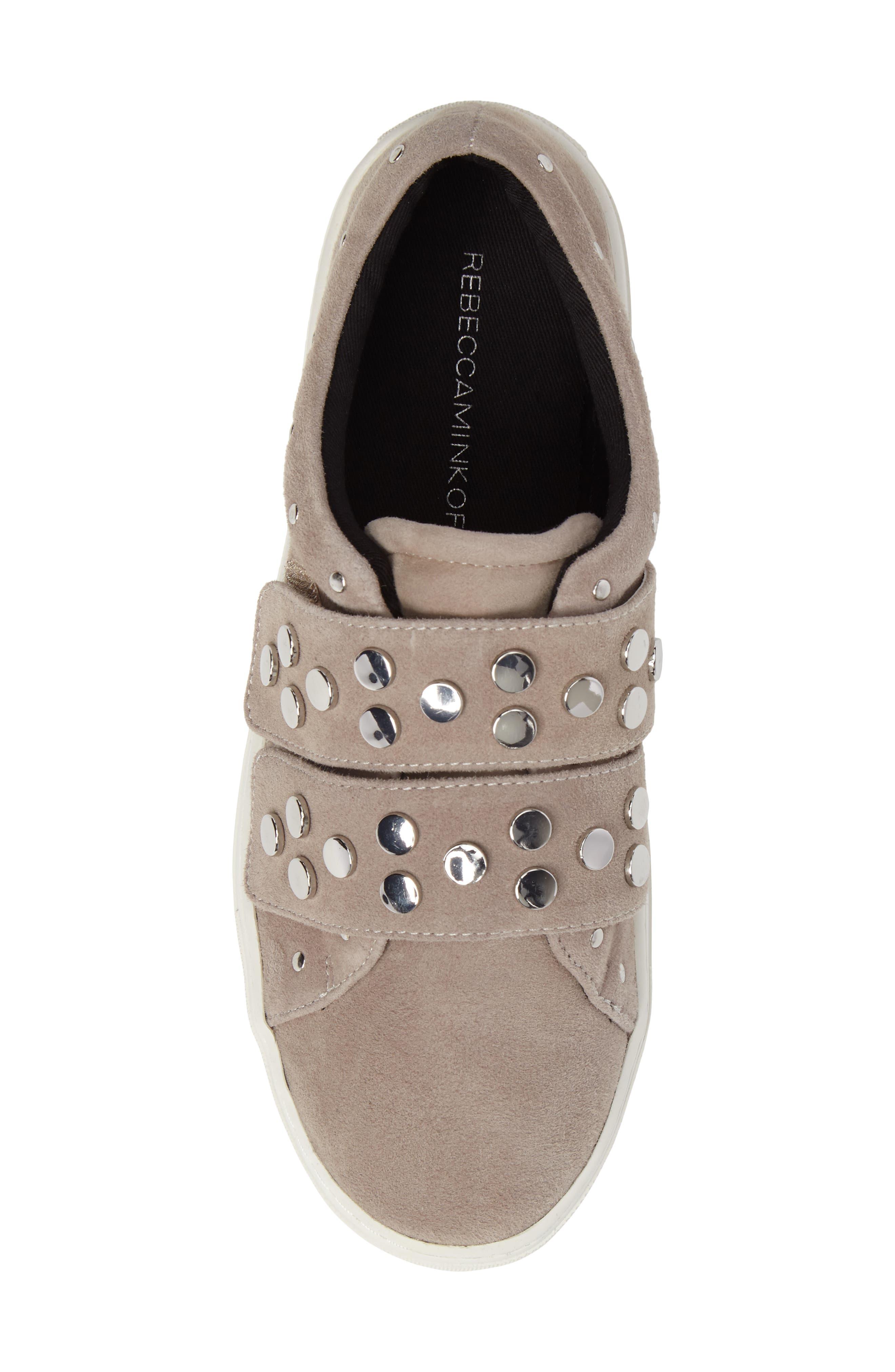 Alternate Image 5  - Rebecca Minkoff Natasha Studded Platform Sneaker (Women)