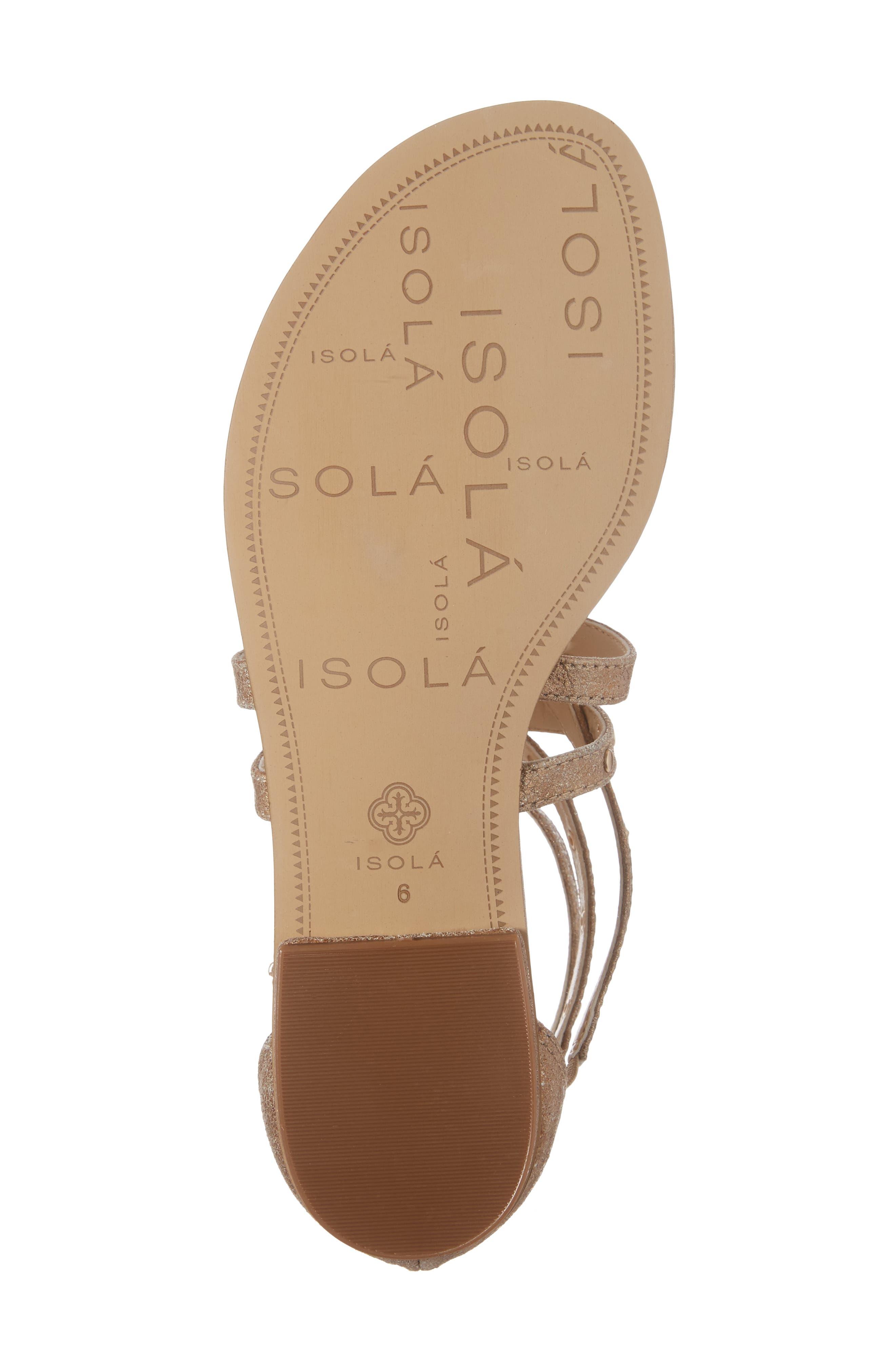 Alternate Image 6  - Isolá Melara T-Strap Gladiator Sandal (Women)