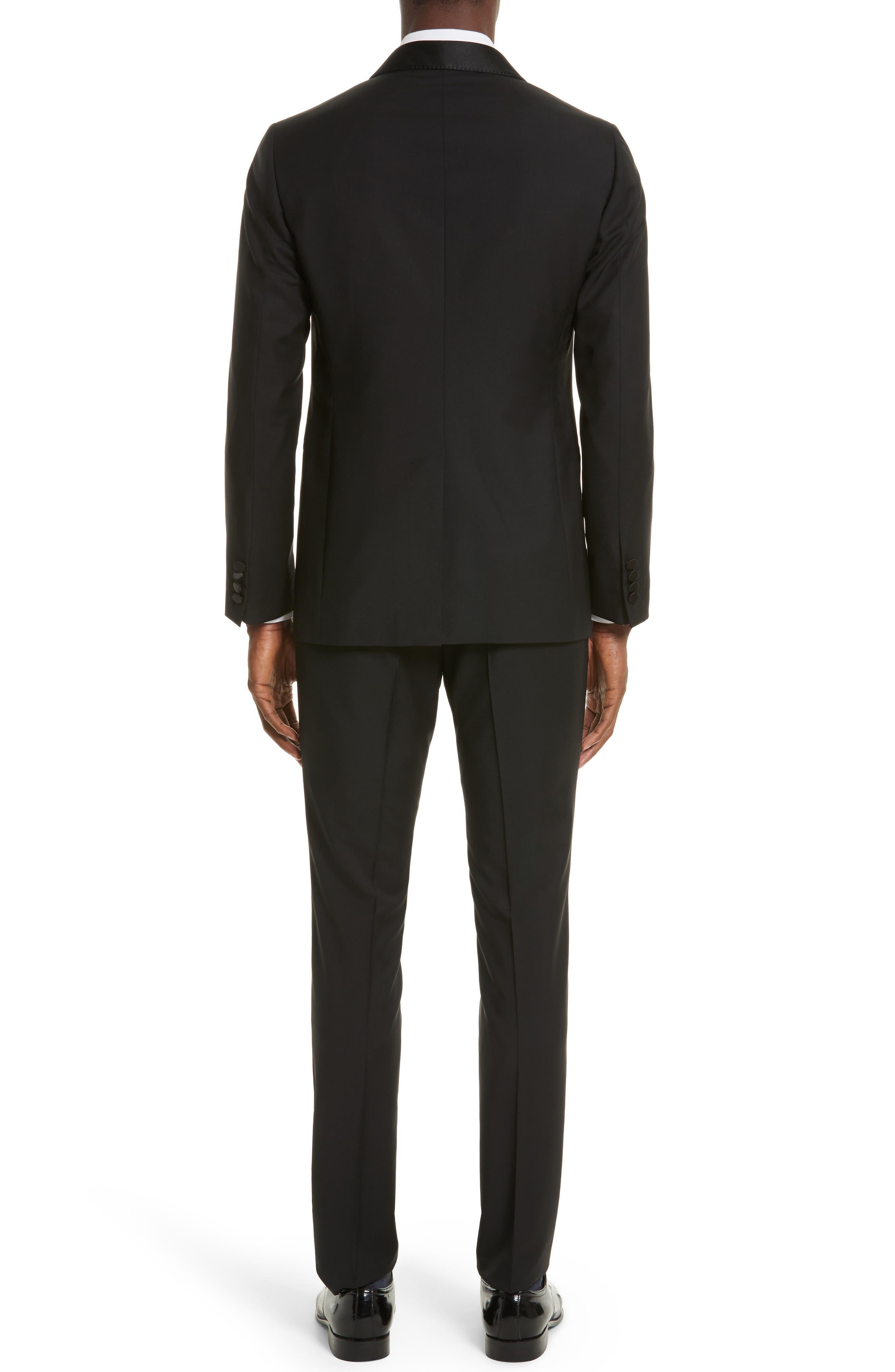Alternate Image 2  - Lanvin Shawl Lapel Wool Blend Tuxedo