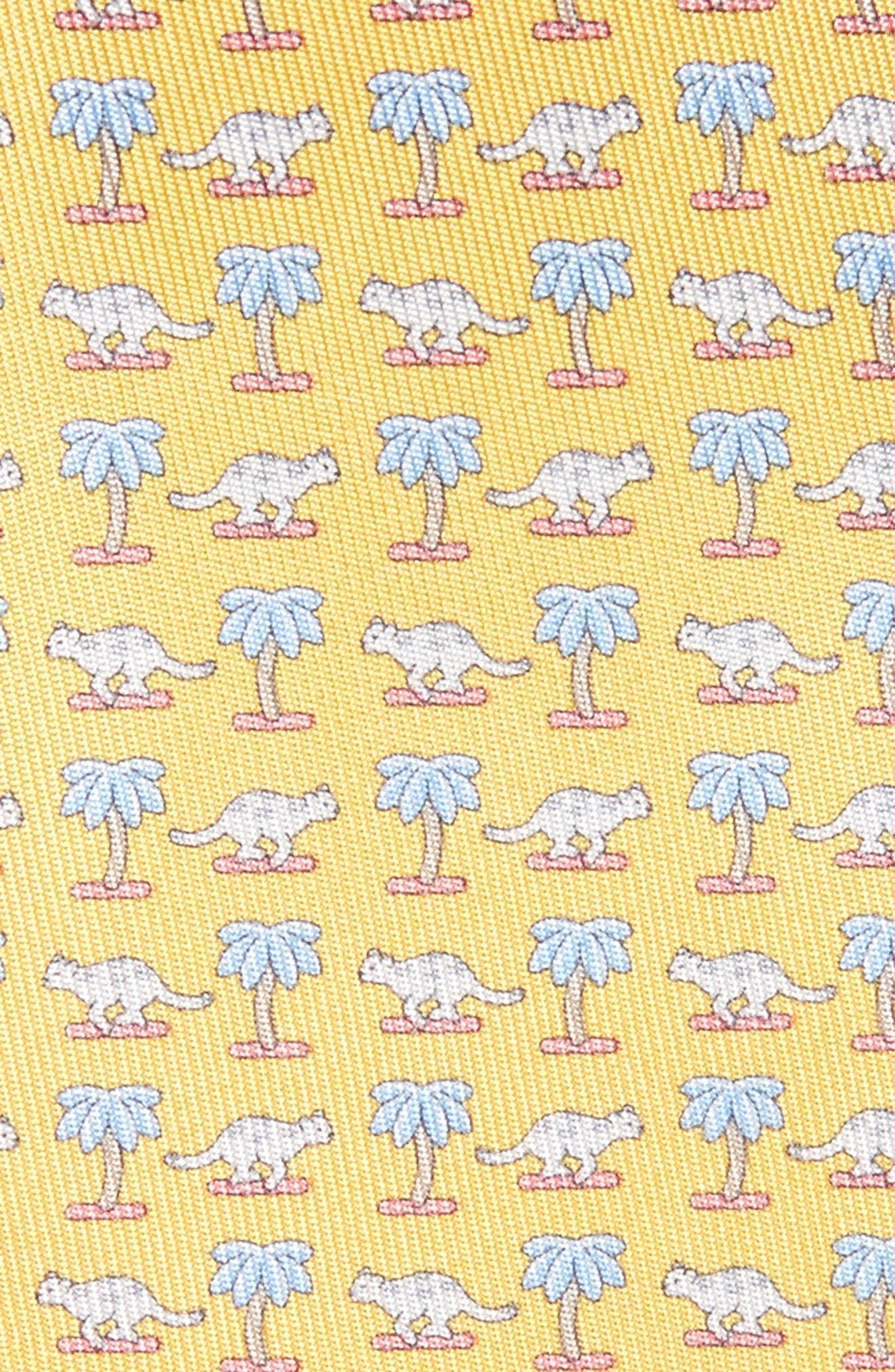 Alternate Image 2  - Salvatore Ferragamo Dinosaur Print Silk Tie