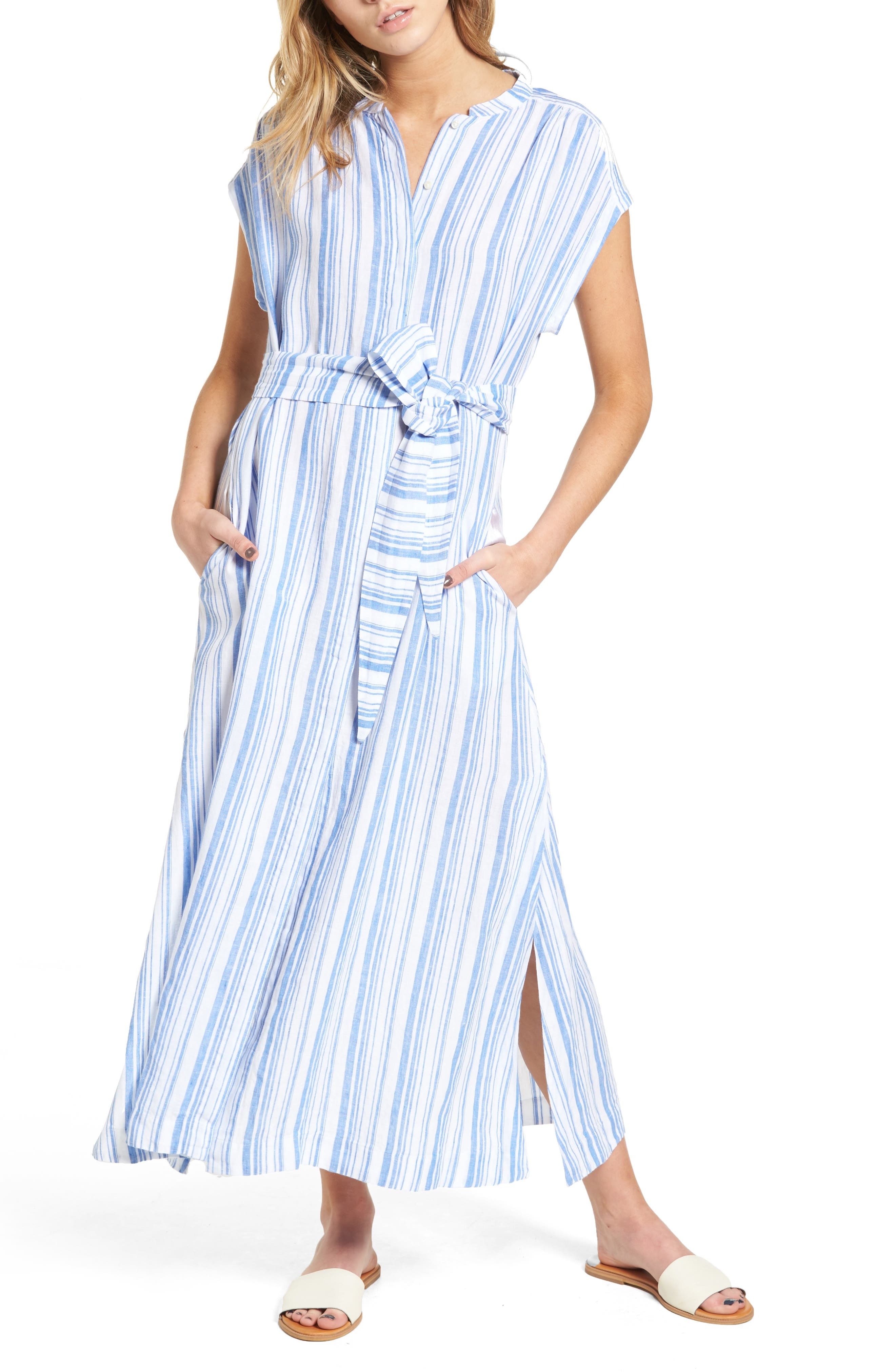 AYR The Sunset Stripe Maxi Dress