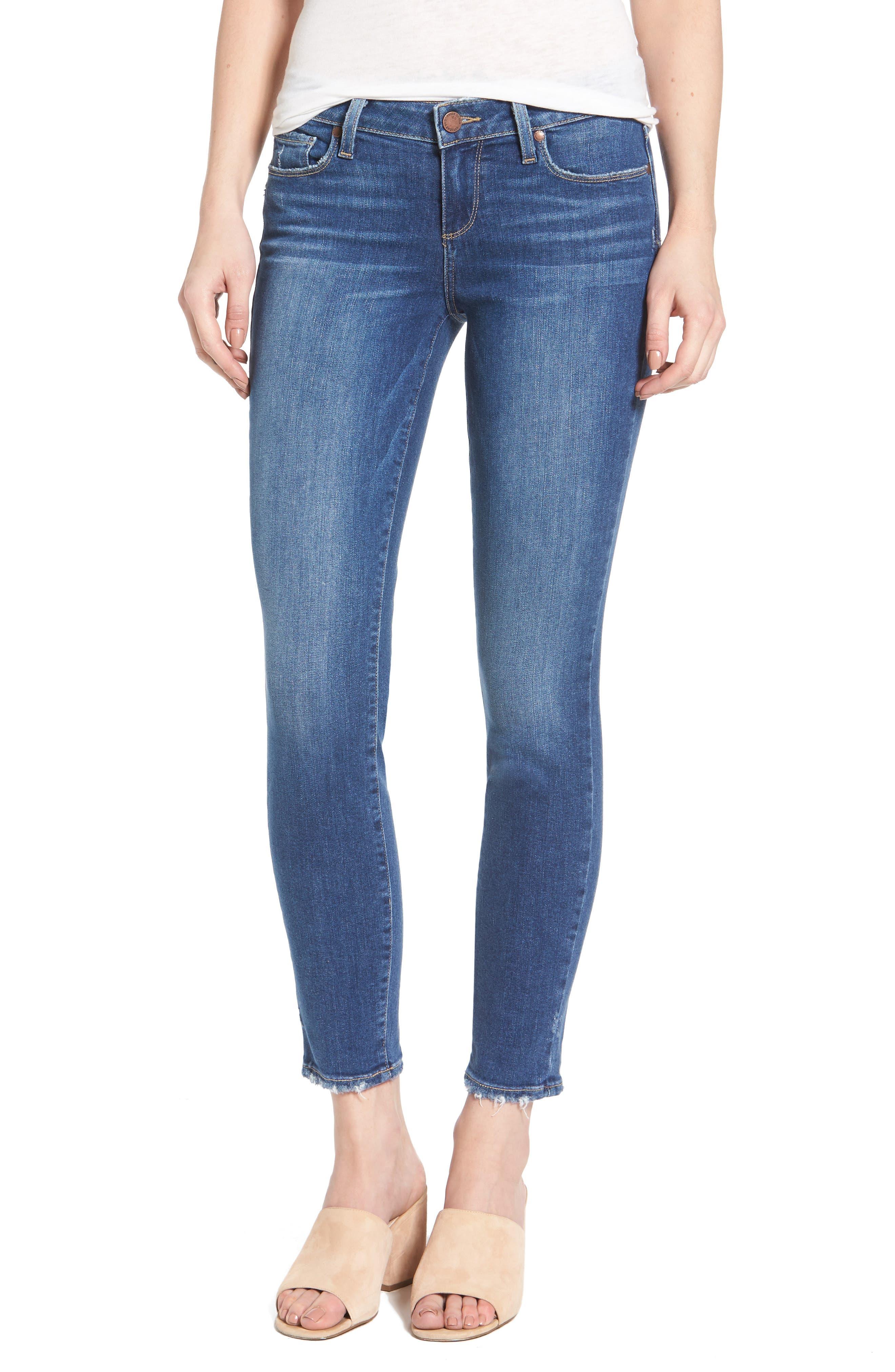 Main Image - PAIGE Verdugo Ankle Ultra Skinny Jeans (Bali)