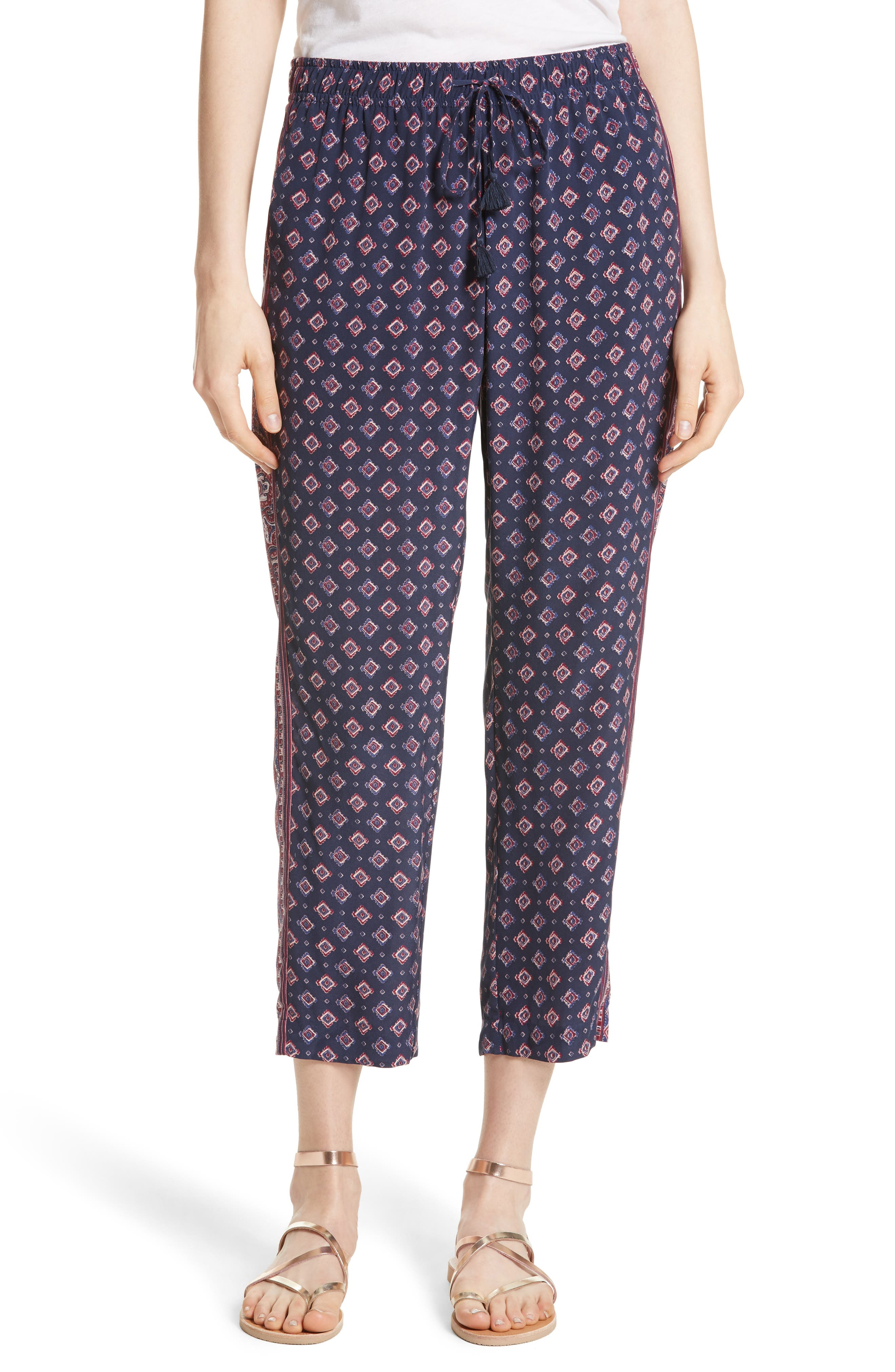 Joie Deidre B Crop Silk Pants