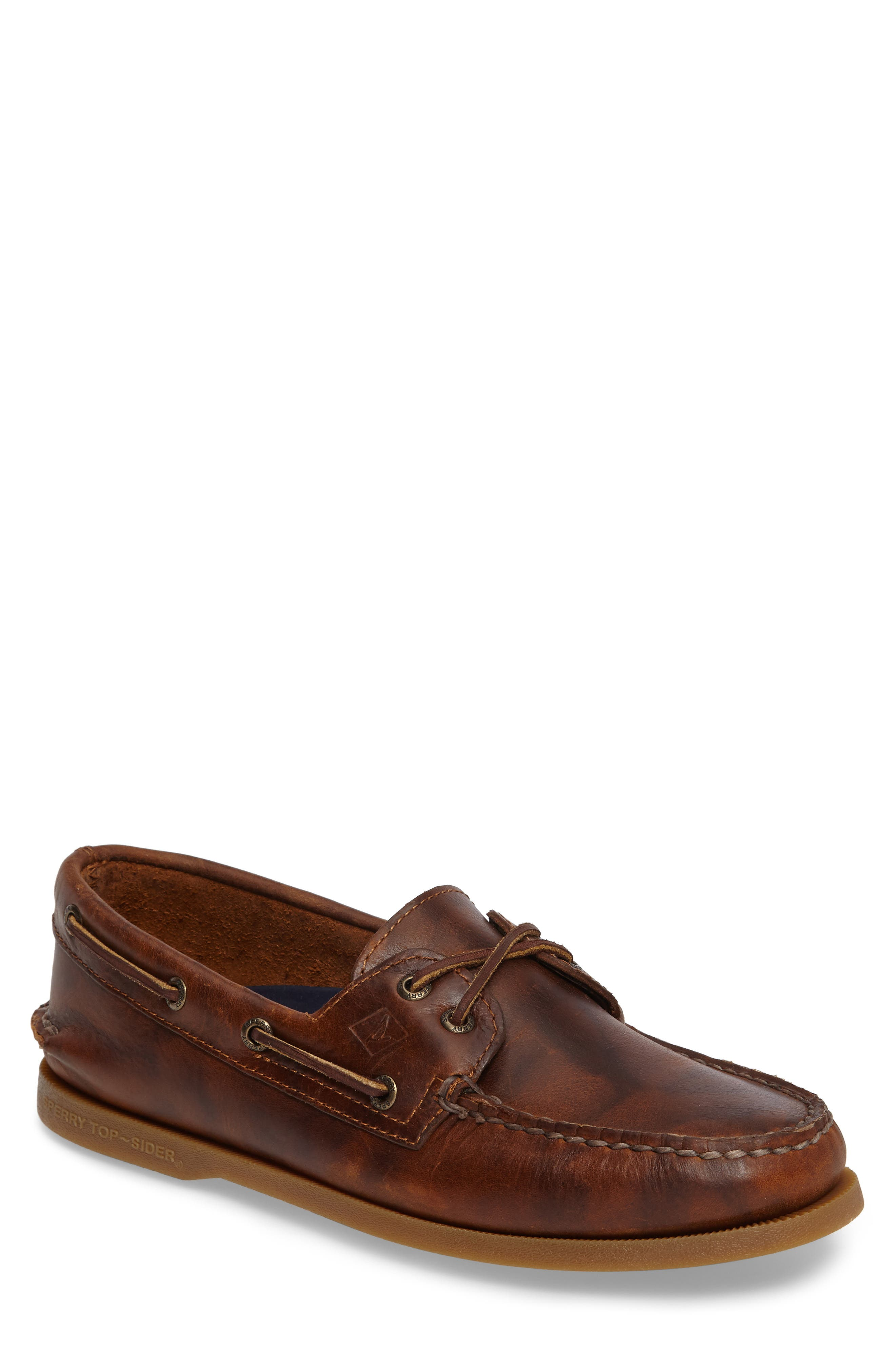 Mens Extra Wide Boat Shoes