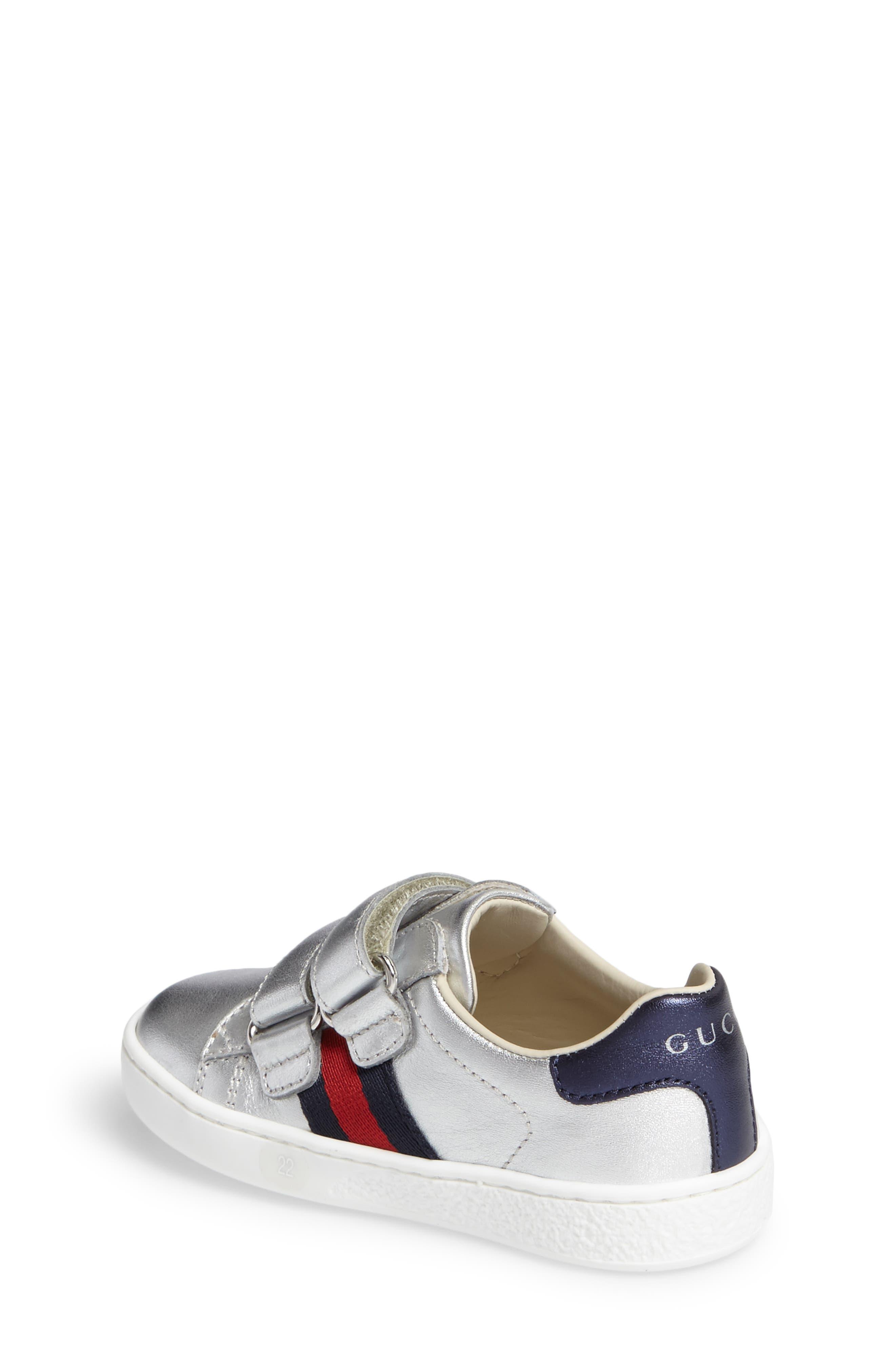 Alternate Image 2  - Gucci New Ace Sneaker (Baby, Walker, Toddler & Little Kid)