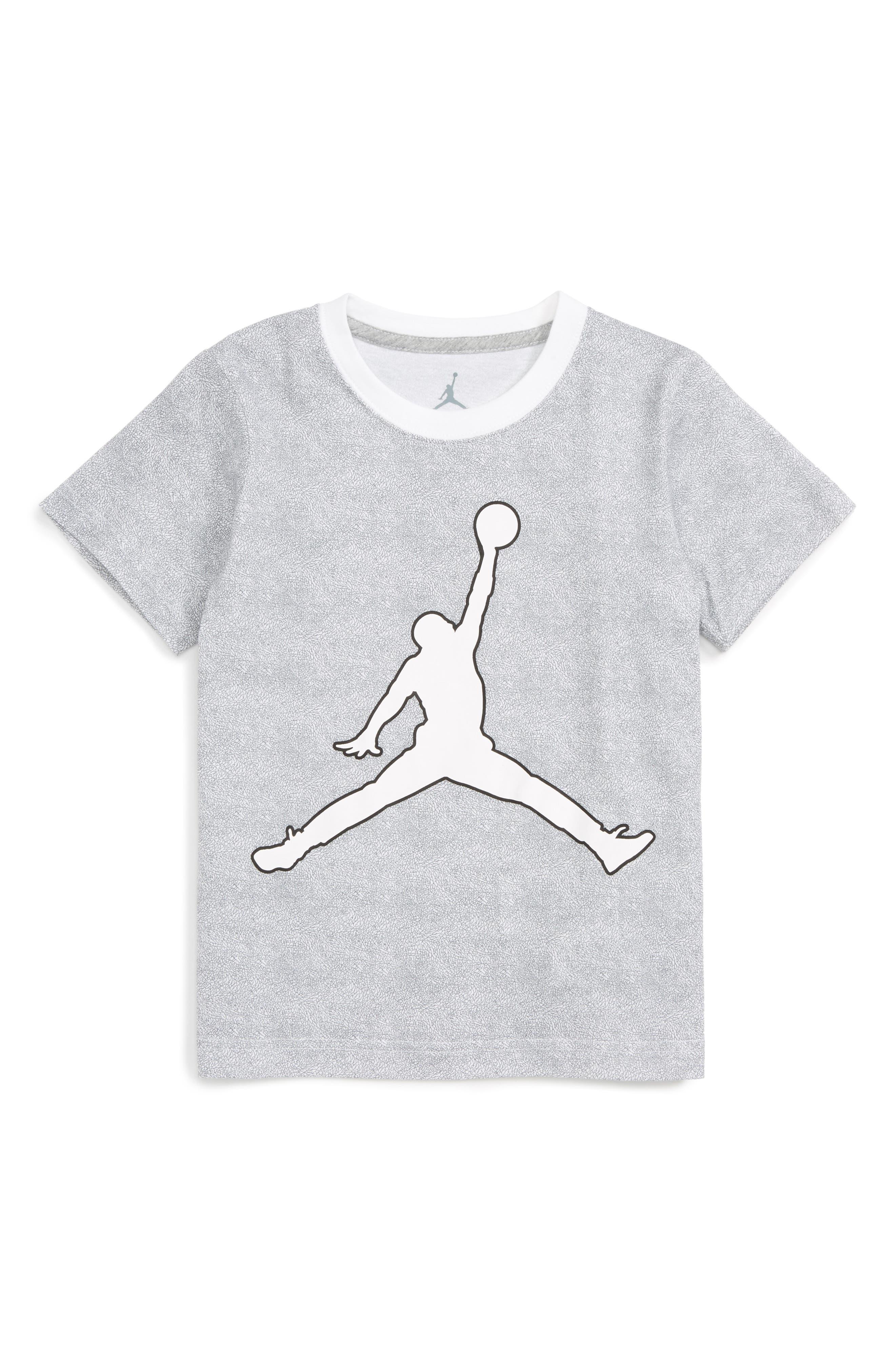 Alternate Image 1 Selected - Jordan Jumpman Graphic T-Shirt (Toddler Boys & Little Boys)