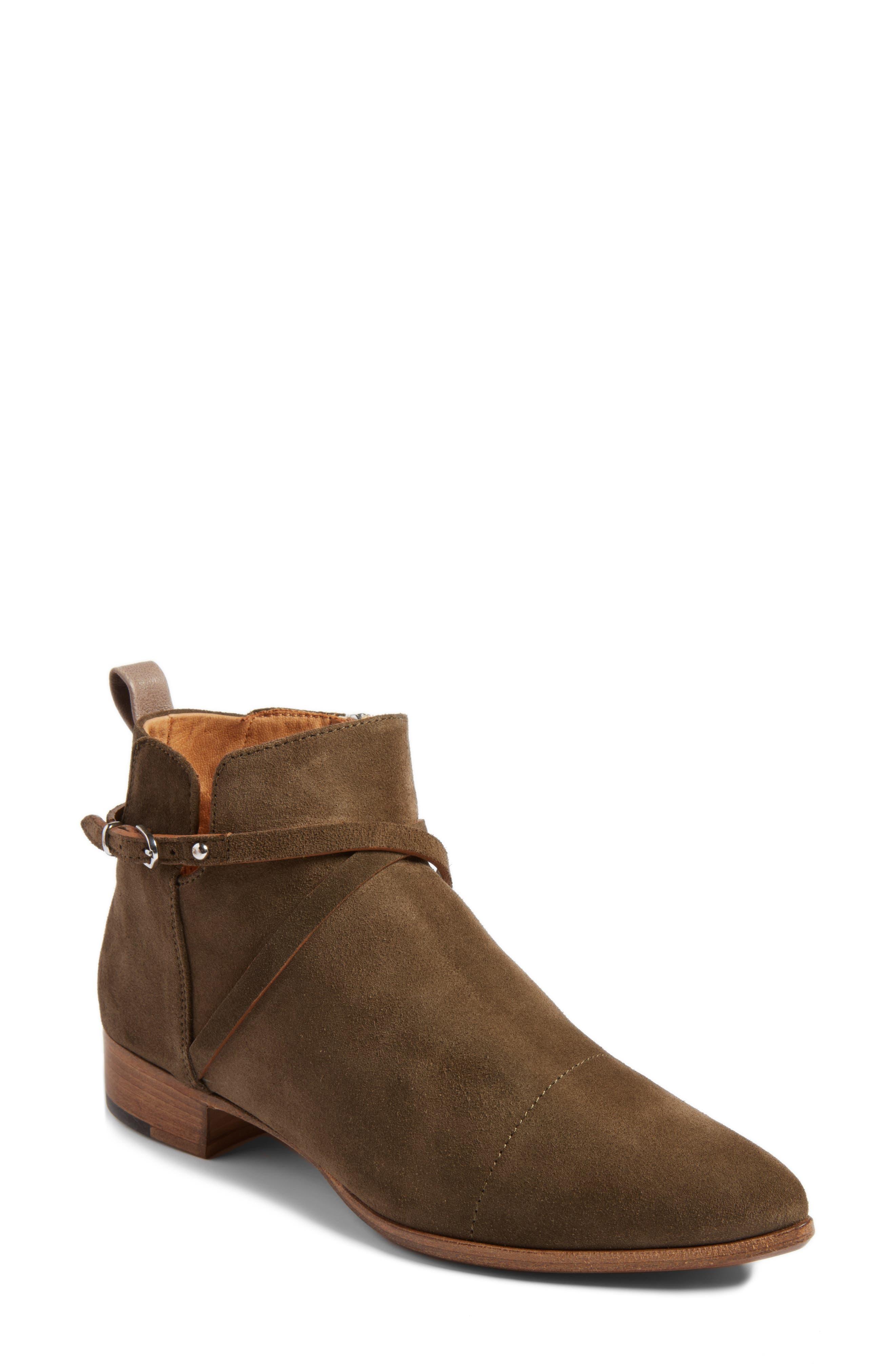 Main Image - Alberto Fermani 'Mea' Ankle Boot (Women) (Nordstrom Exclusive)