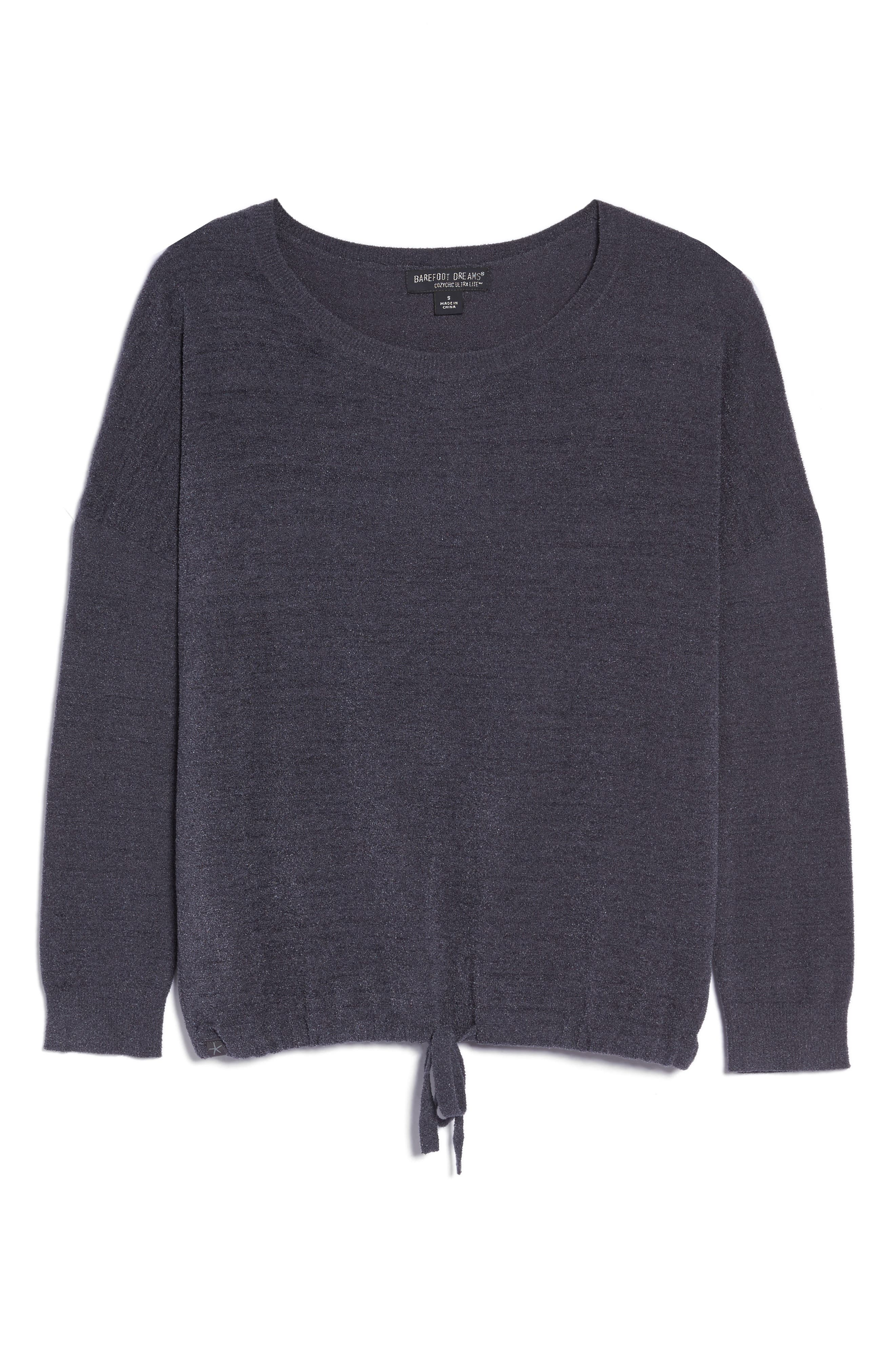 Cozychic Ultra Lite<sup>®</sup> Lounge Pullover,                             Alternate thumbnail 4, color,                             Pacific Blue