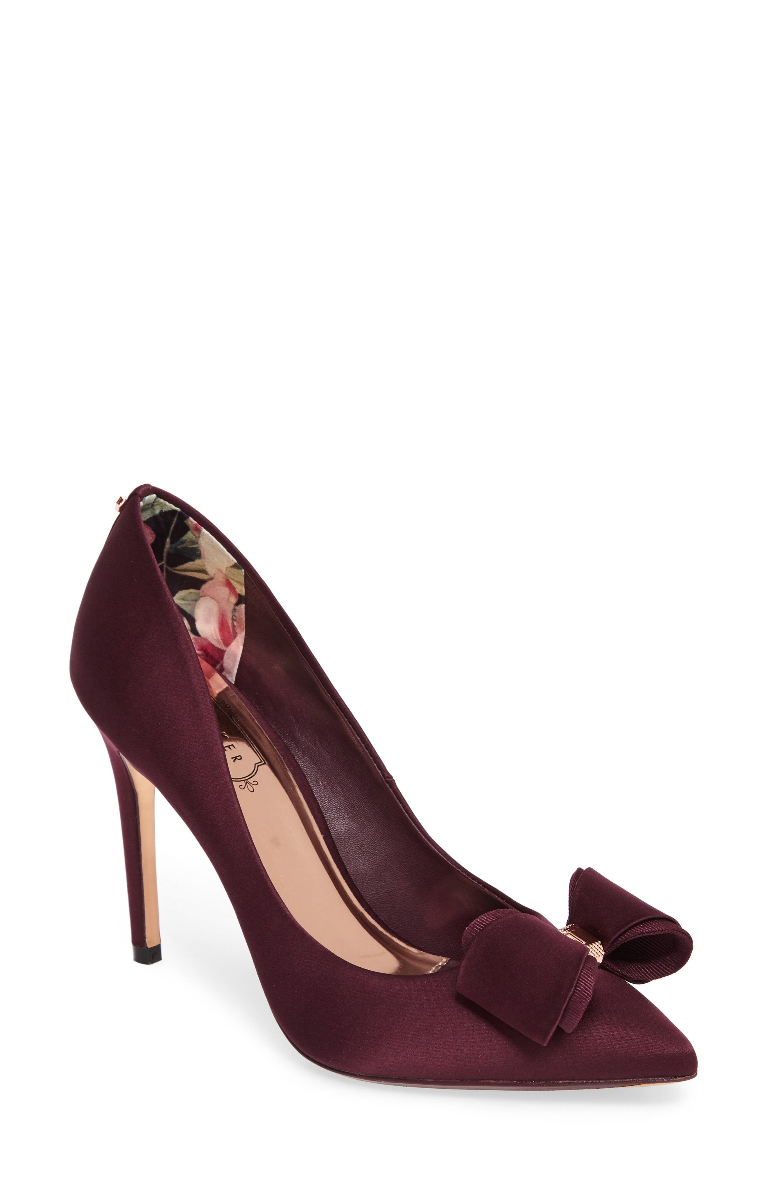 Main Image - Ted Baker London Azeline Bow Pump (Women)
