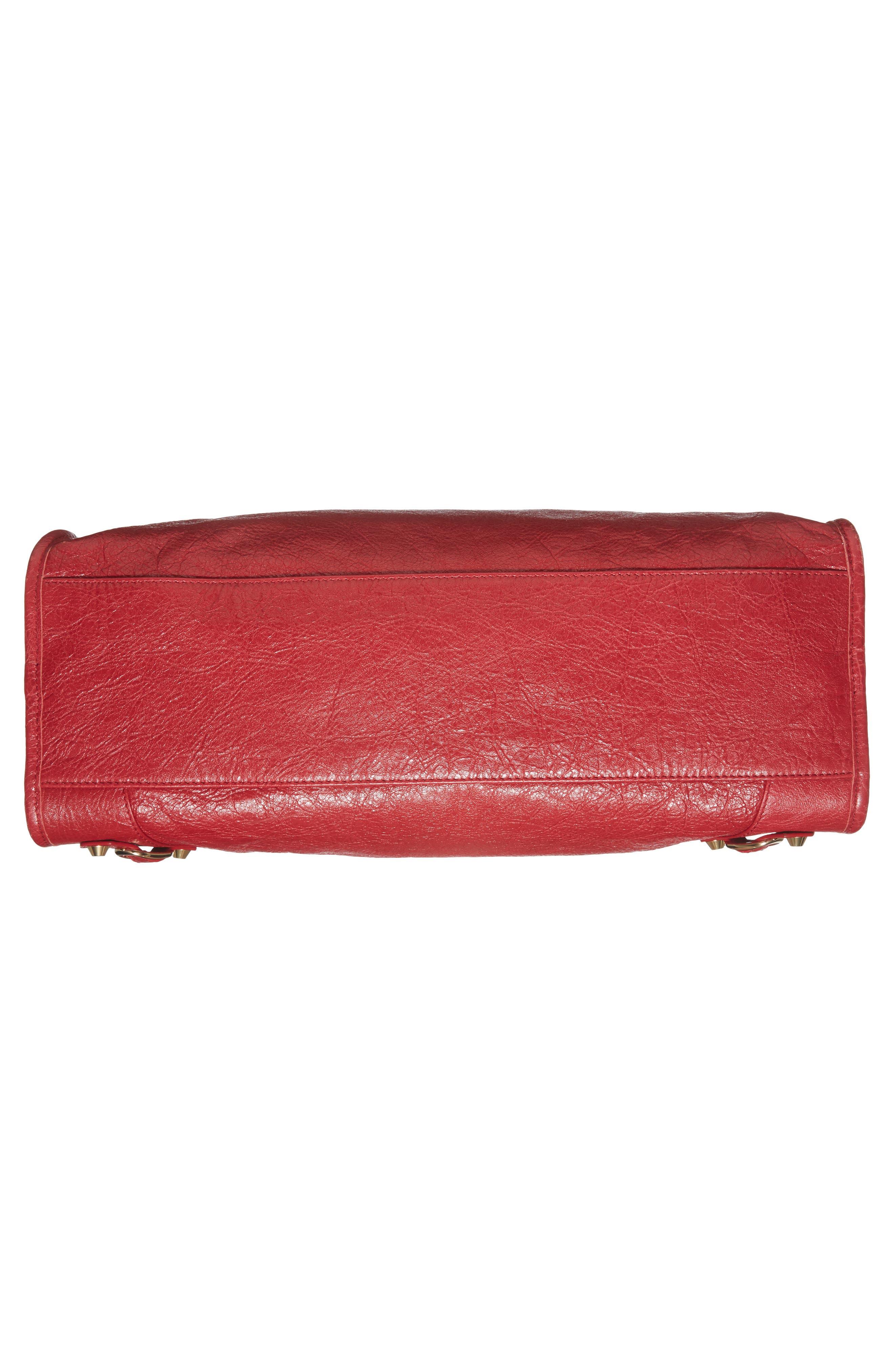 Classic City Bag,                             Alternate thumbnail 6, color,                             6270 Rouge Saffron/Dk Sang