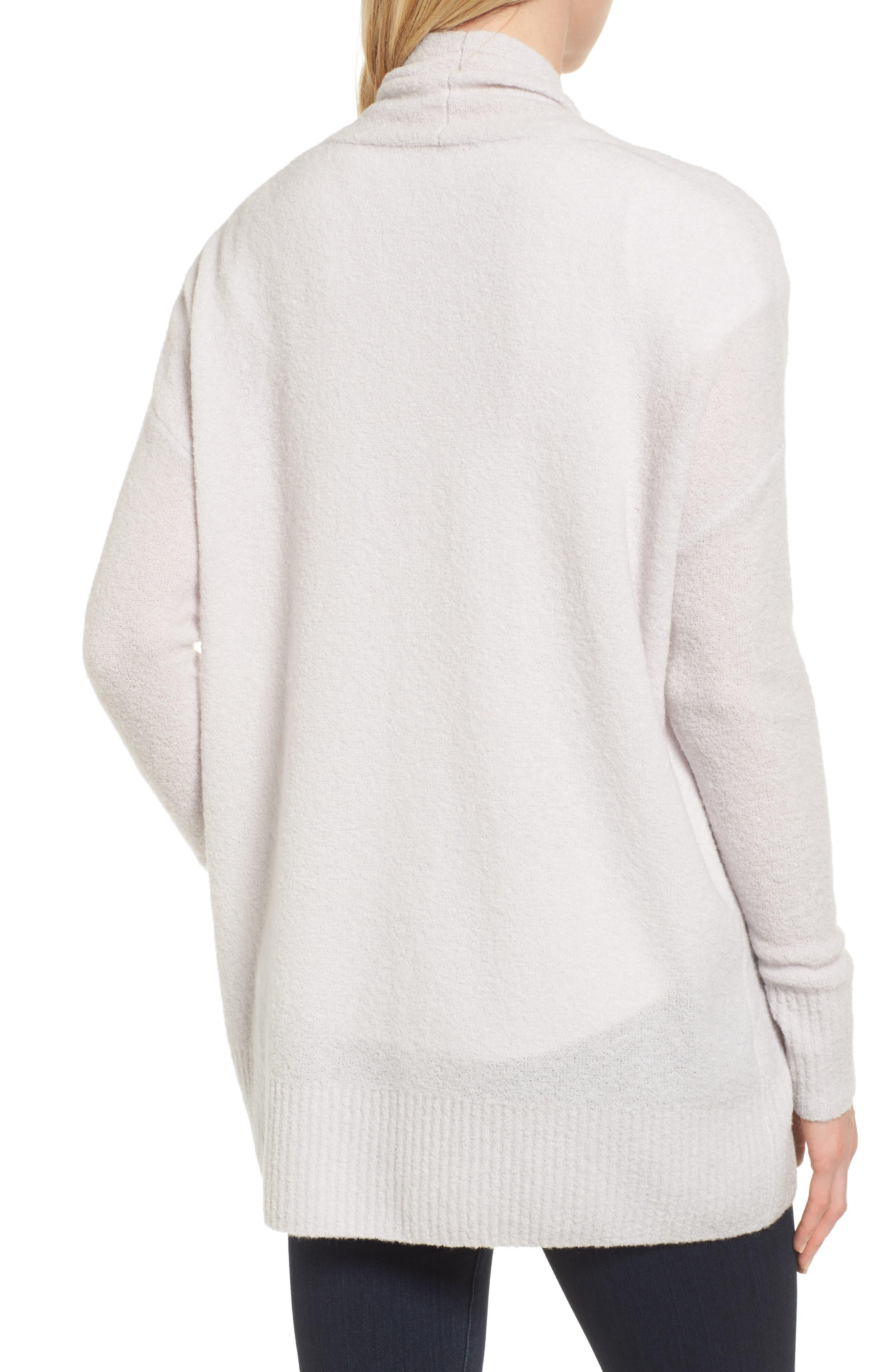 Alternate Image 2  - Nordstrom Signature Cashmere Blend Bouclé Cardigan