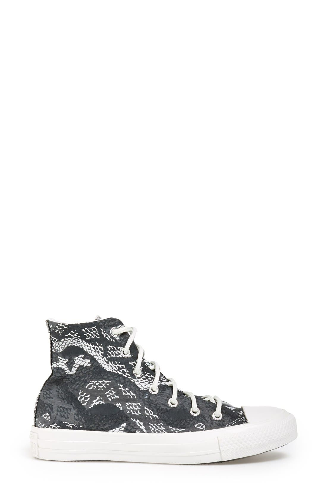 Alternate Image 5  - Converse Chuck Taylor® 'Reptile Print' High Top Sneaker (Women)