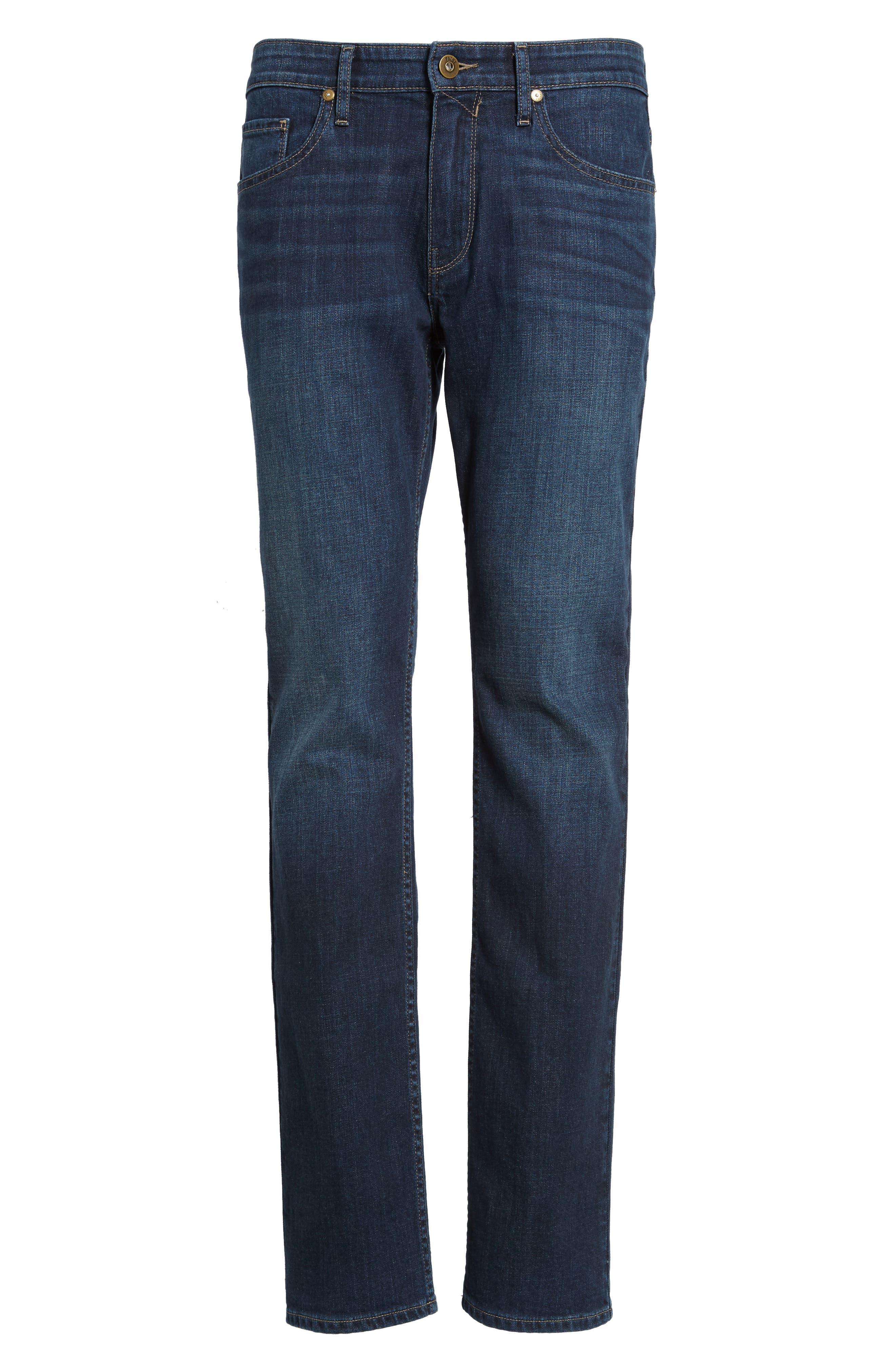 Alternate Image 6  - PAIGE Federal Slim Straight Leg Jeans (Arnold)