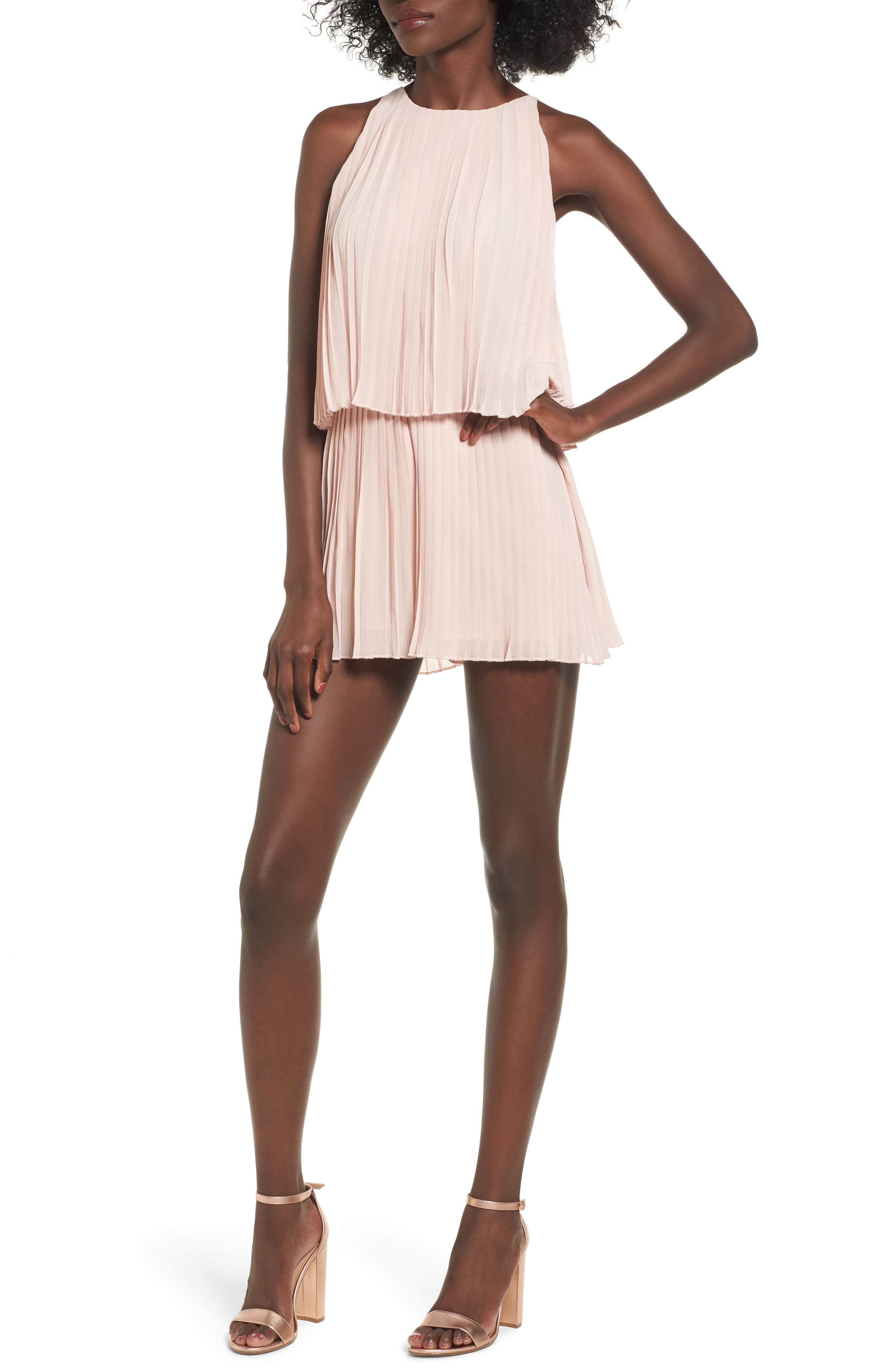 Lover + Friends Nicki Popover Romper