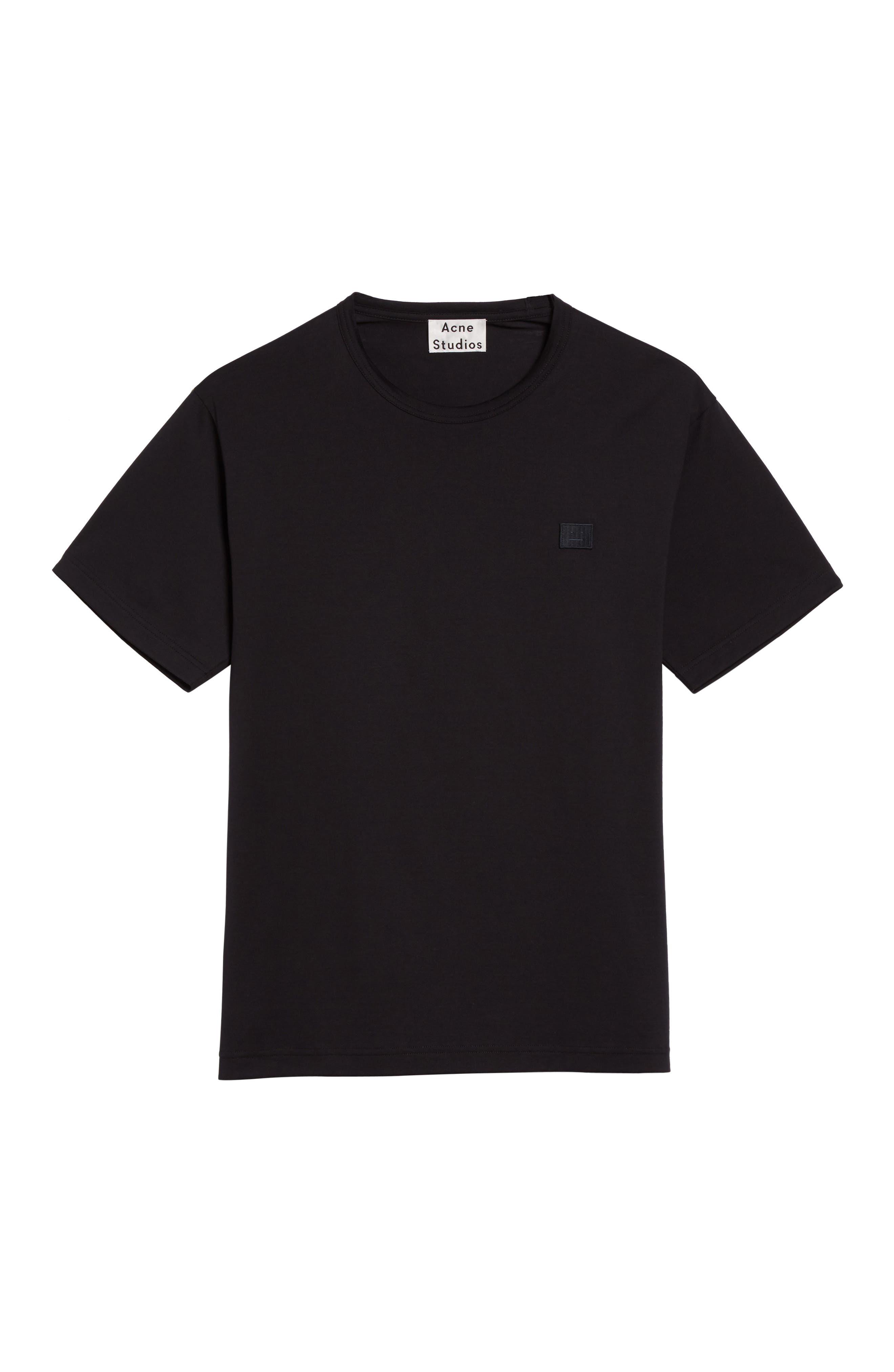 Nash Face T-Shirt,                             Alternate thumbnail 6, color,                             Black